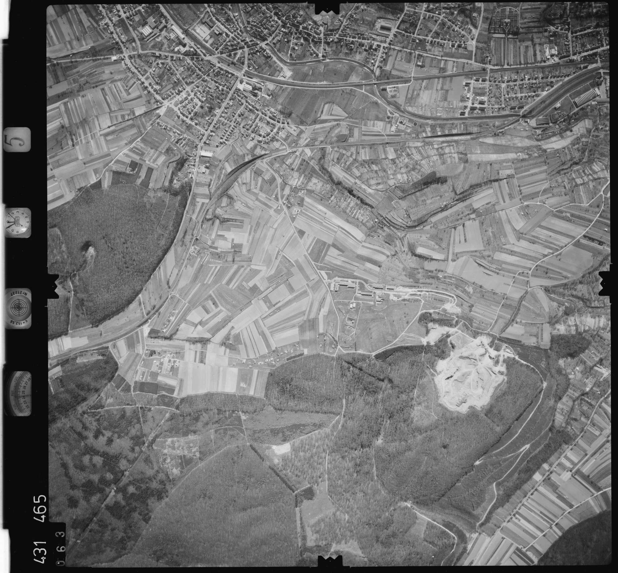 Luftbild: Film 5 Bildnr. 63, Bild 1