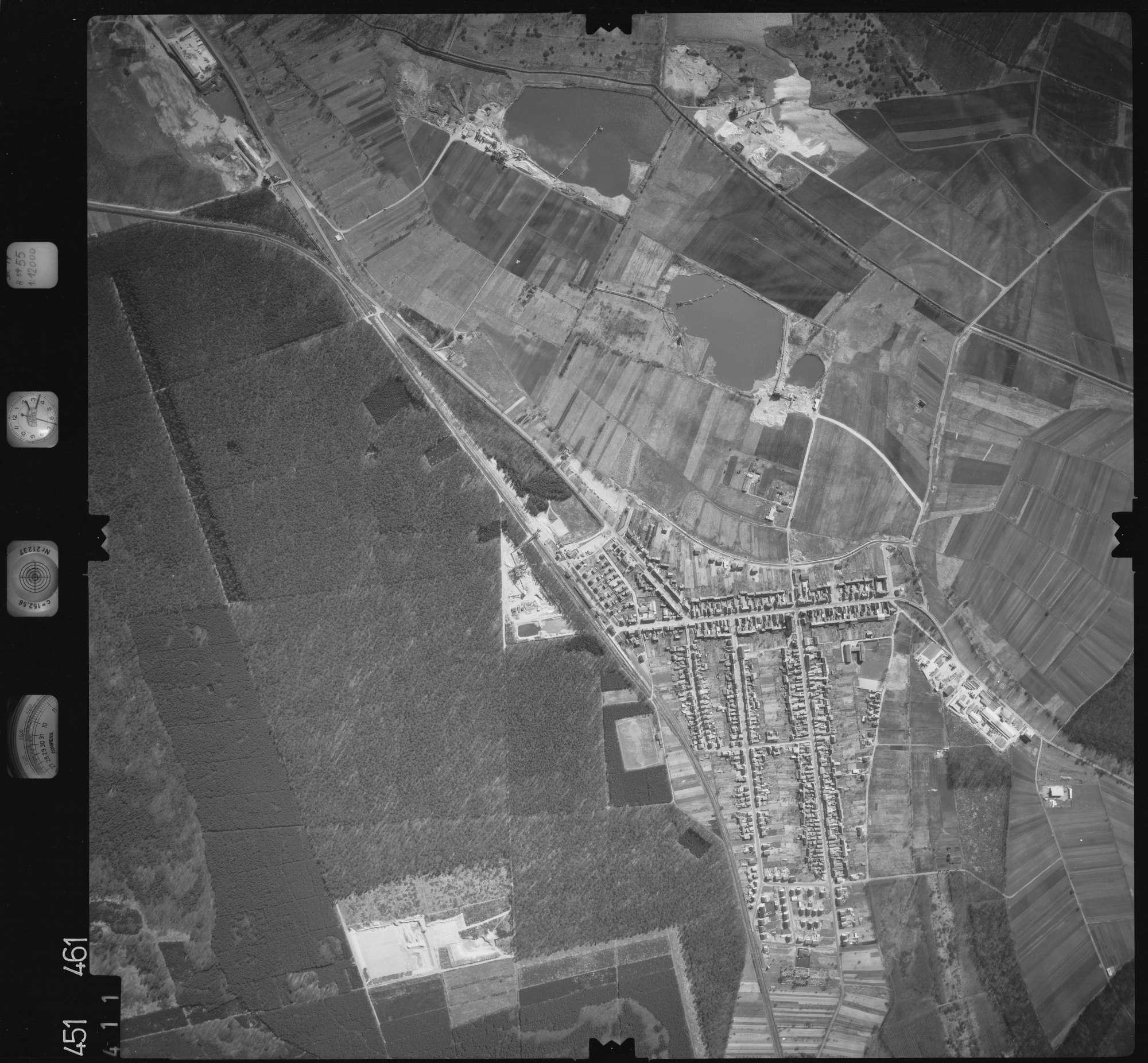 Luftbild: Film 15 Bildnr. 411, Bild 1