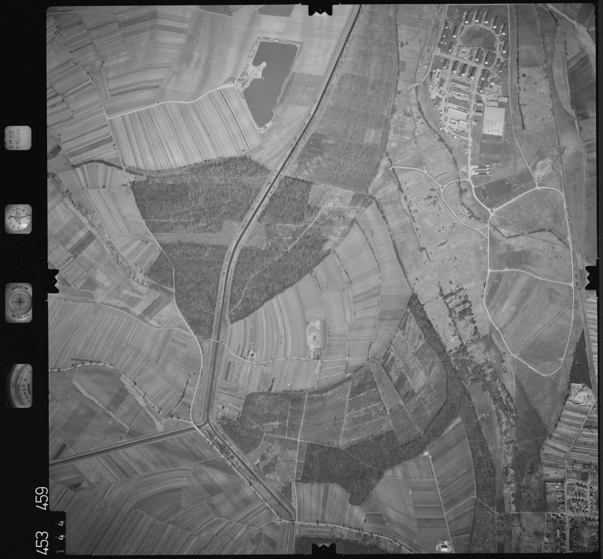 Luftbild: Film 16 Bildnr. 144, Bild 1