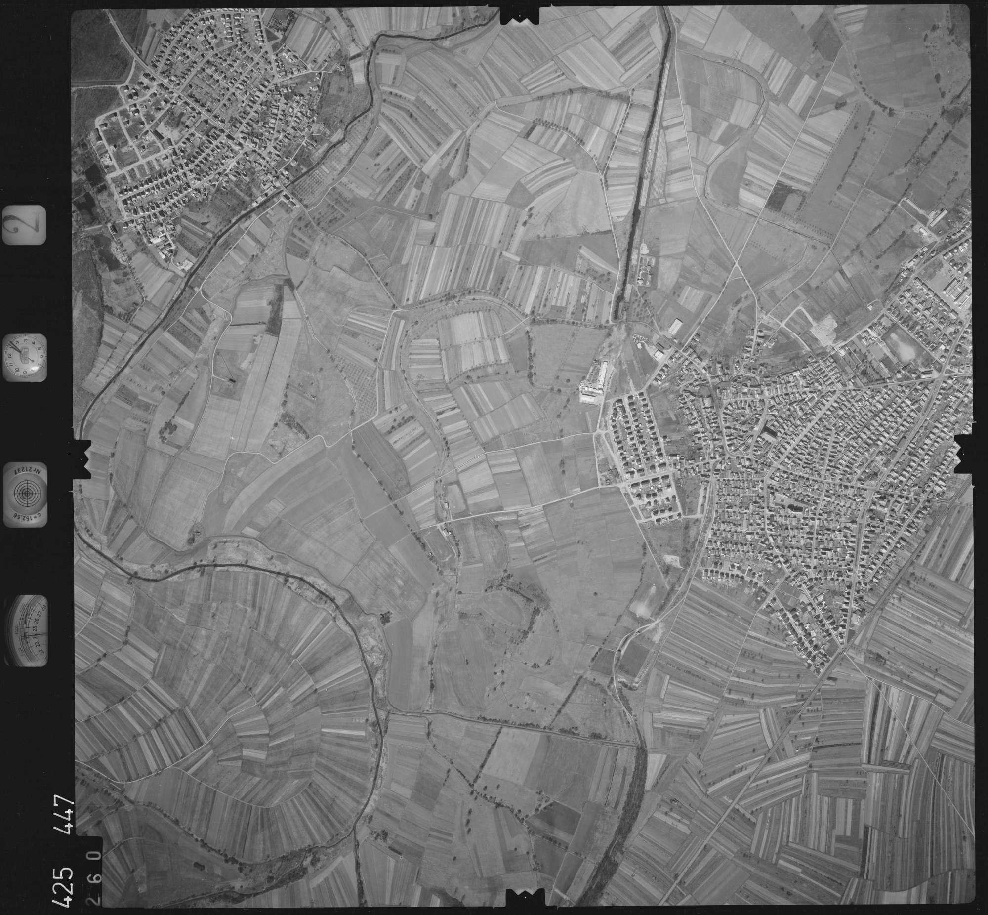 Luftbild: Film 2 Bildnr. 260, Bild 1