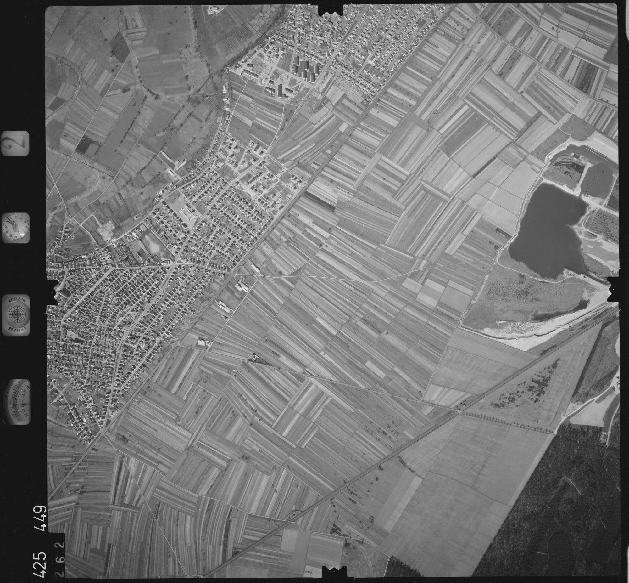Luftbild: Film 2 Bildnr. 262, Bild 1