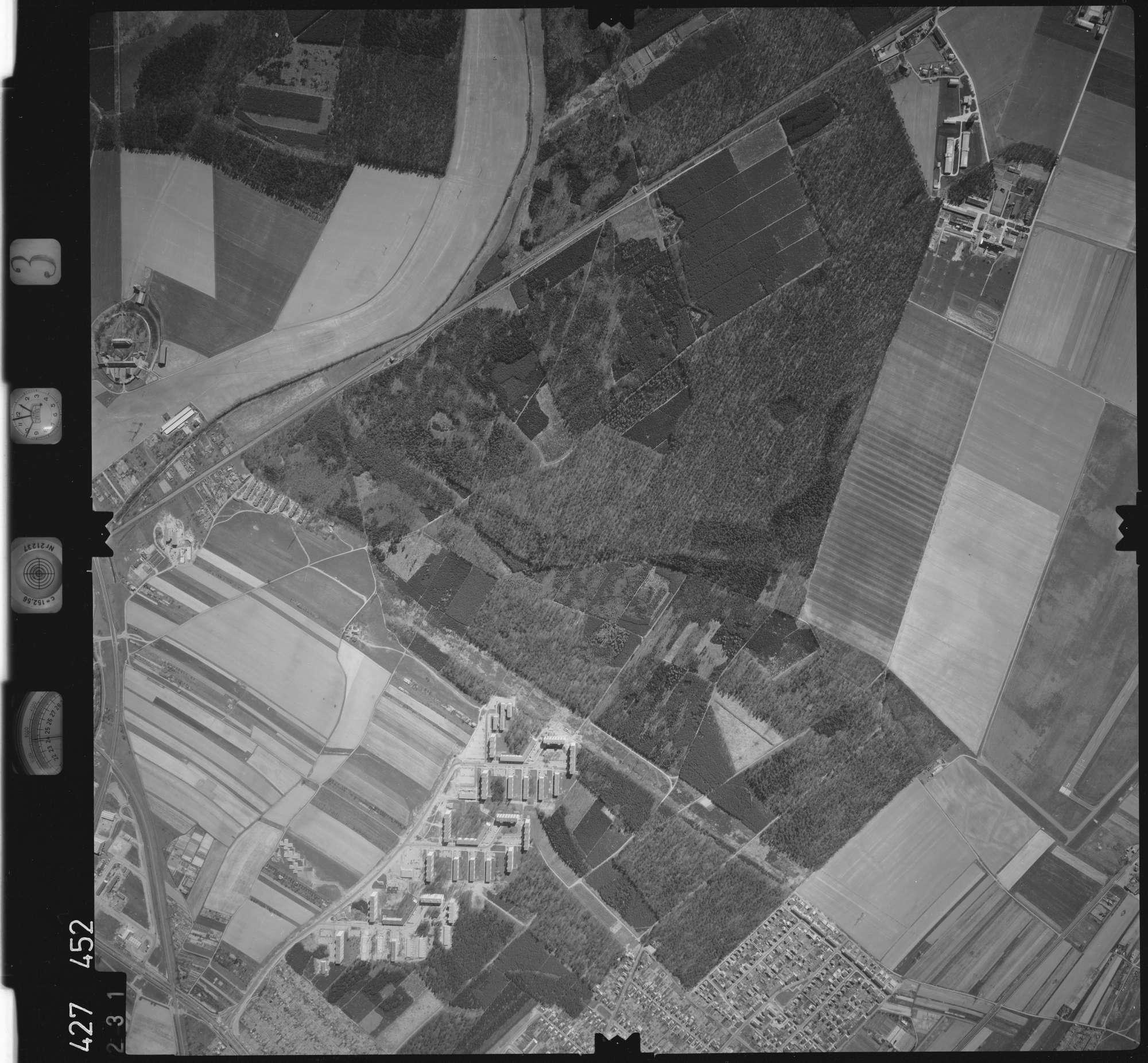 Luftbild: Film 3 Bildnr. 231, Bild 1