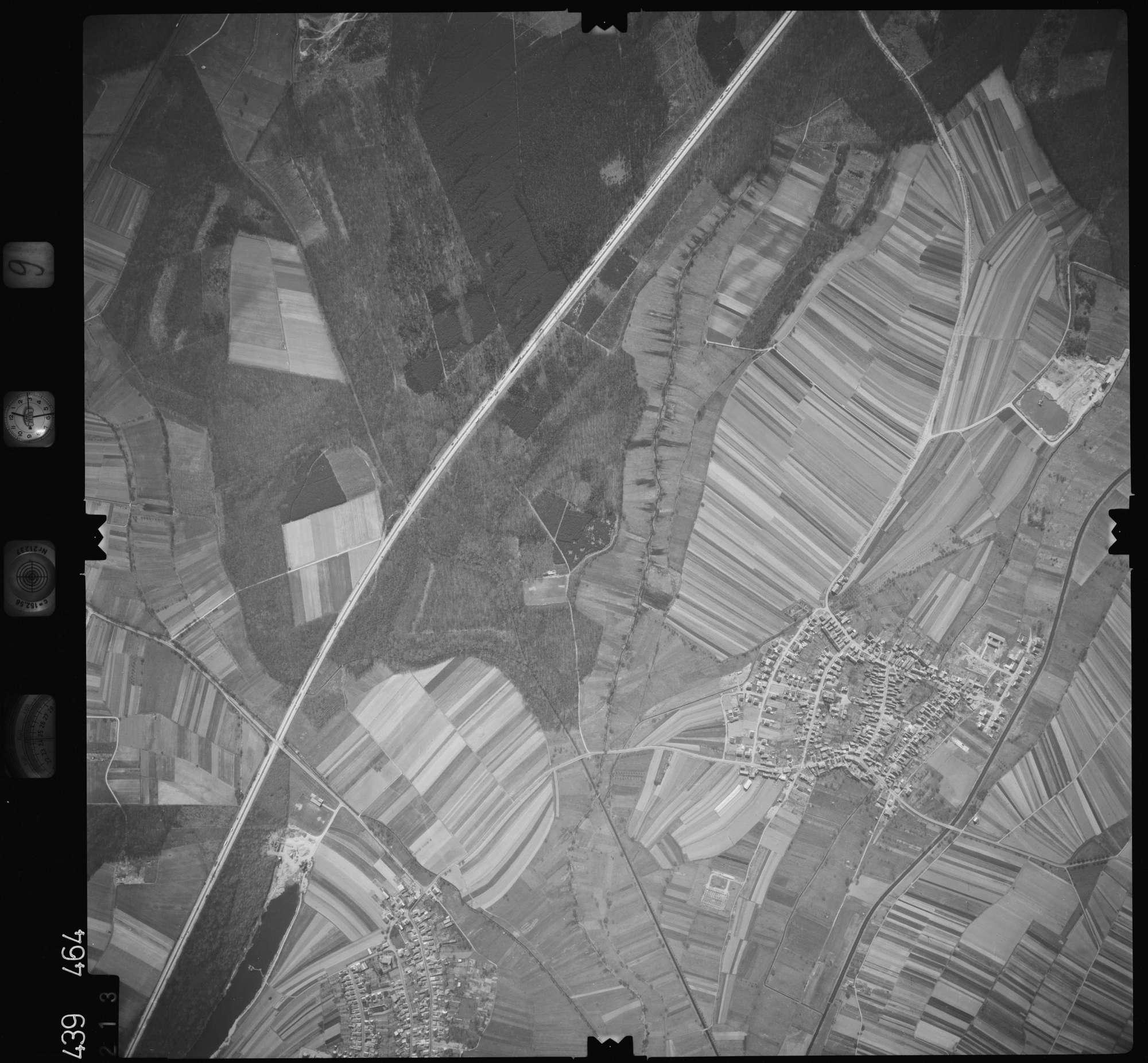 Luftbild: Film 9 Bildnr. 213, Bild 1