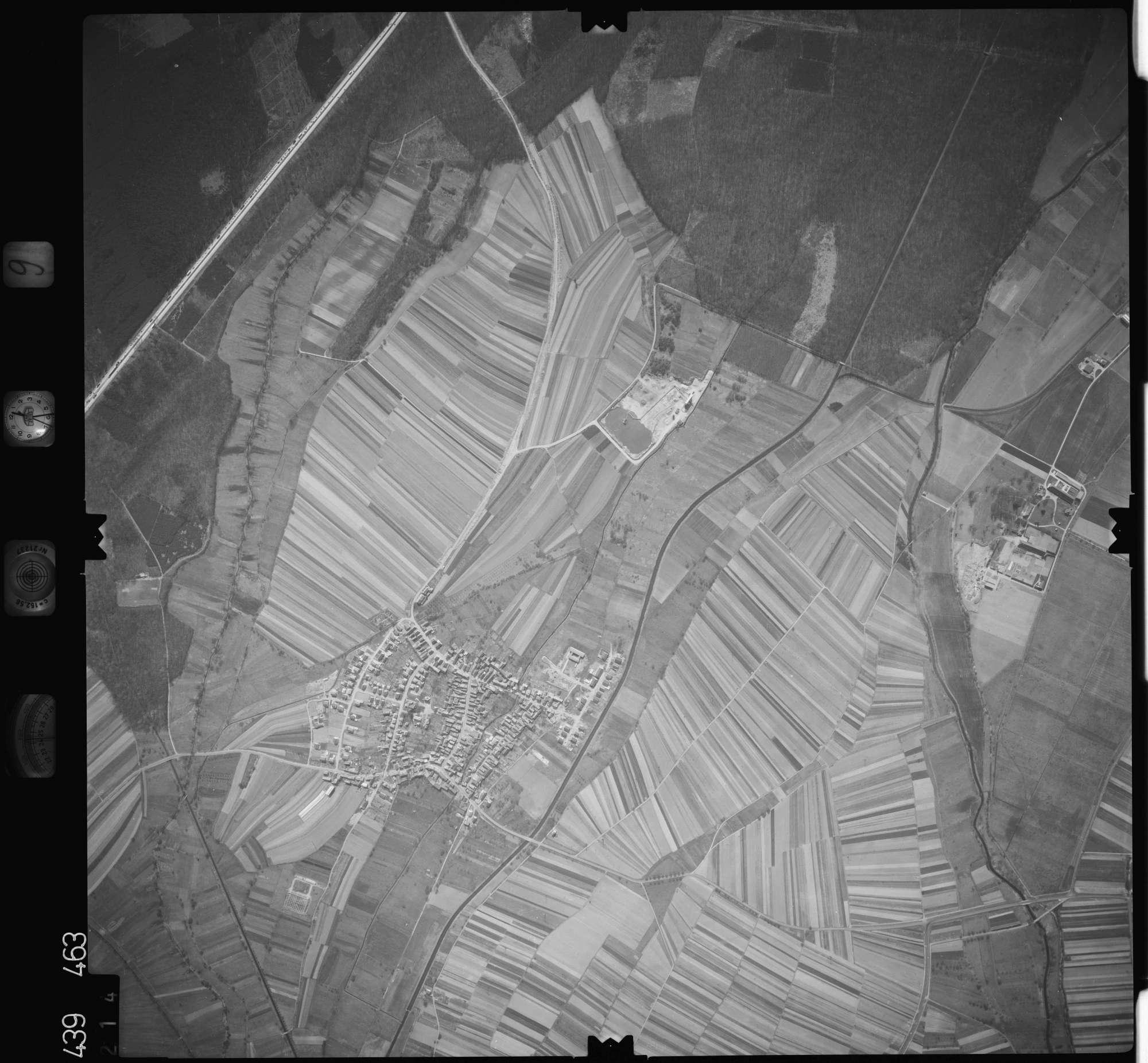 Luftbild: Film 9 Bildnr. 214, Bild 1