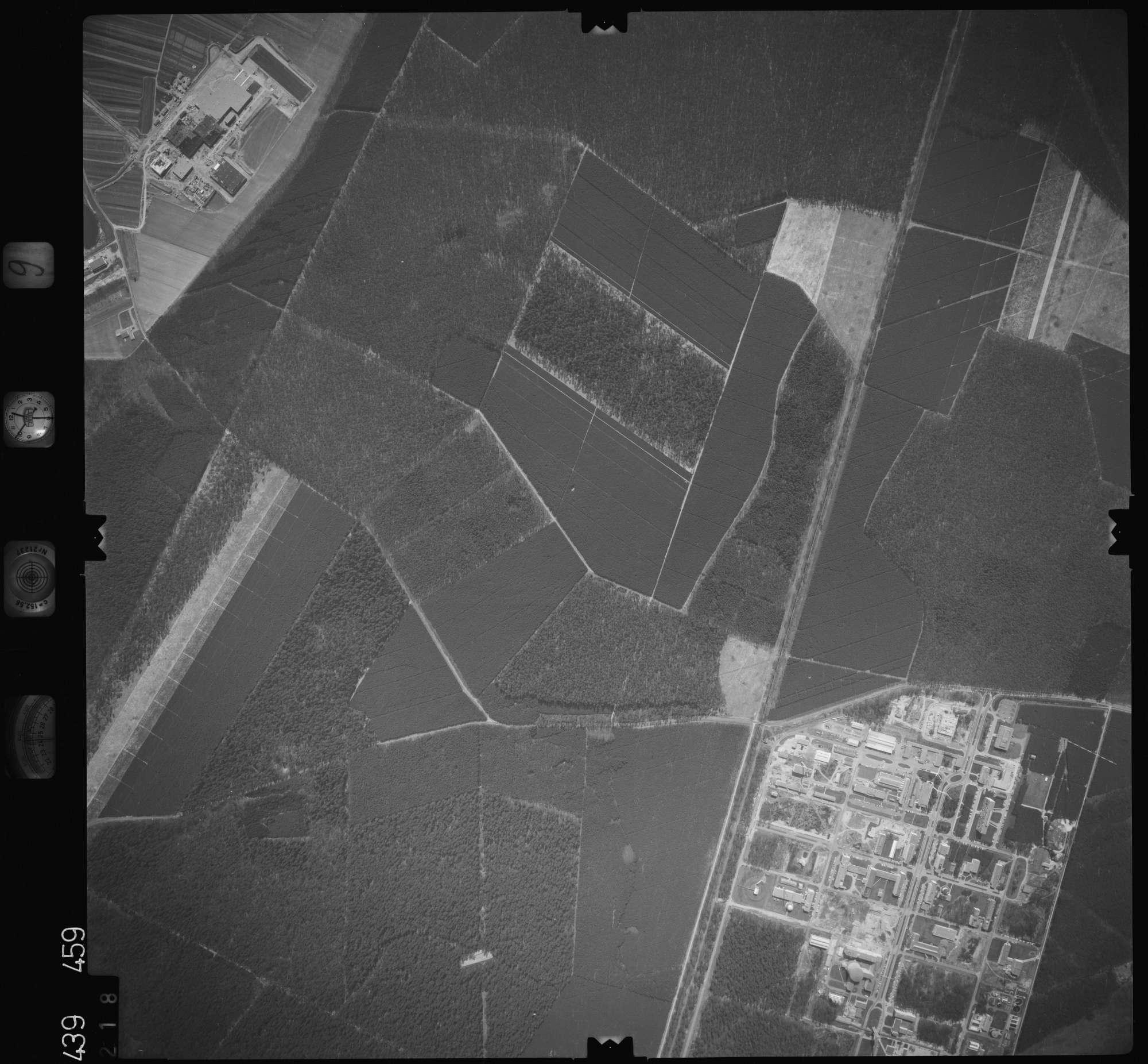 Luftbild: Film 9 Bildnr. 218, Bild 1