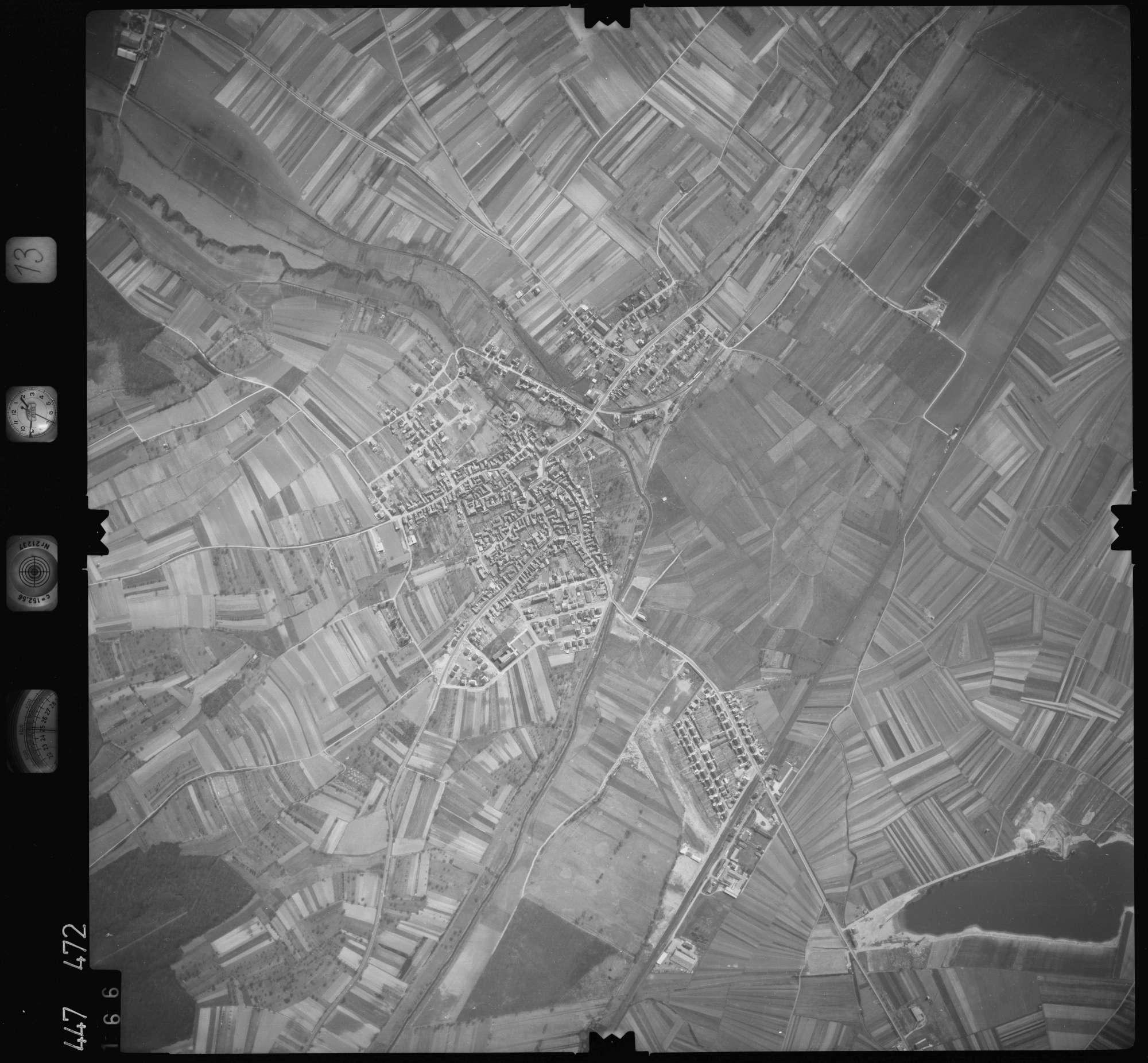 Luftbild: Film 13 Bildnr. 166, Bild 1