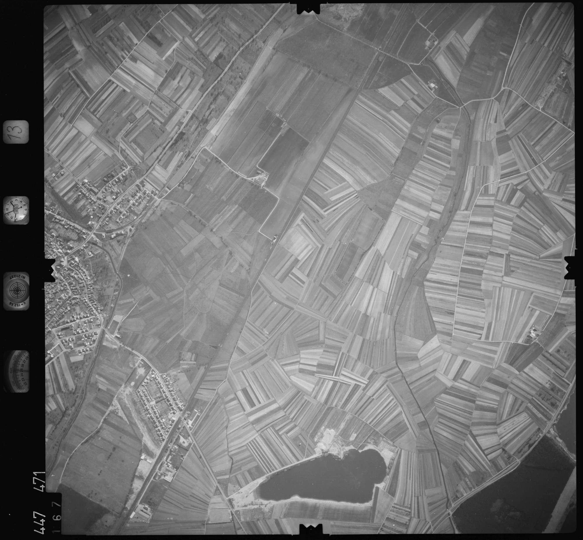 Luftbild: Film 13 Bildnr. 167, Bild 1