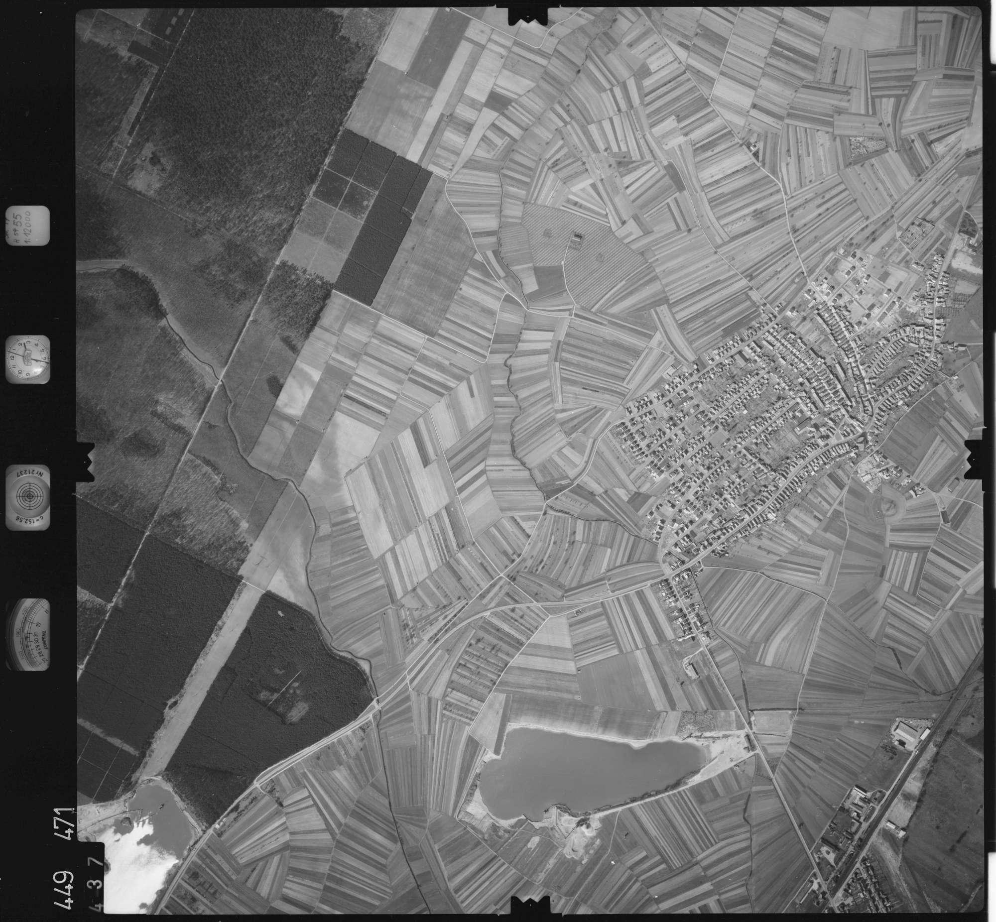 Luftbild: Film 14 Bildnr. 437, Bild 1