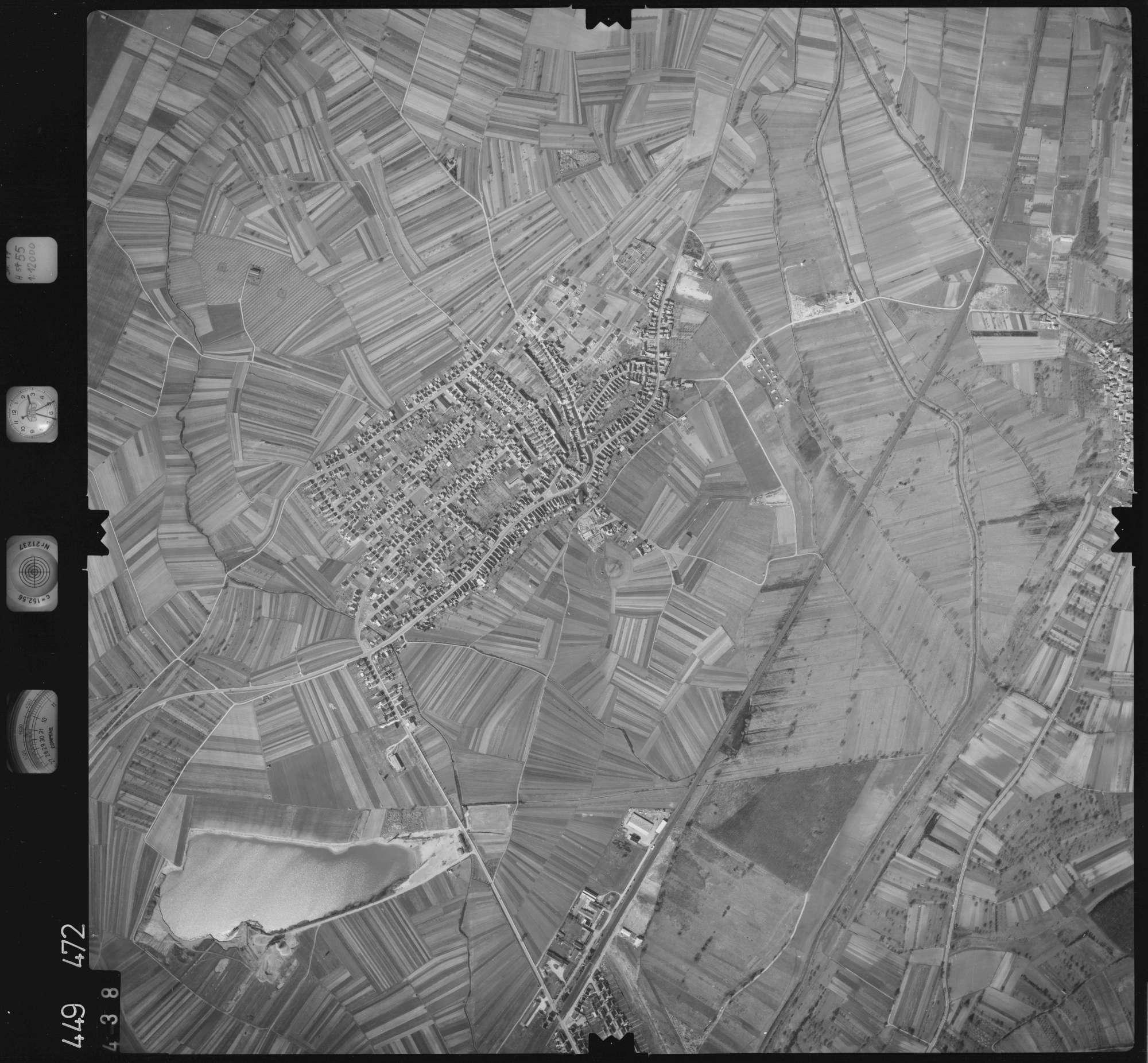 Luftbild: Film 14 Bildnr. 438, Bild 1
