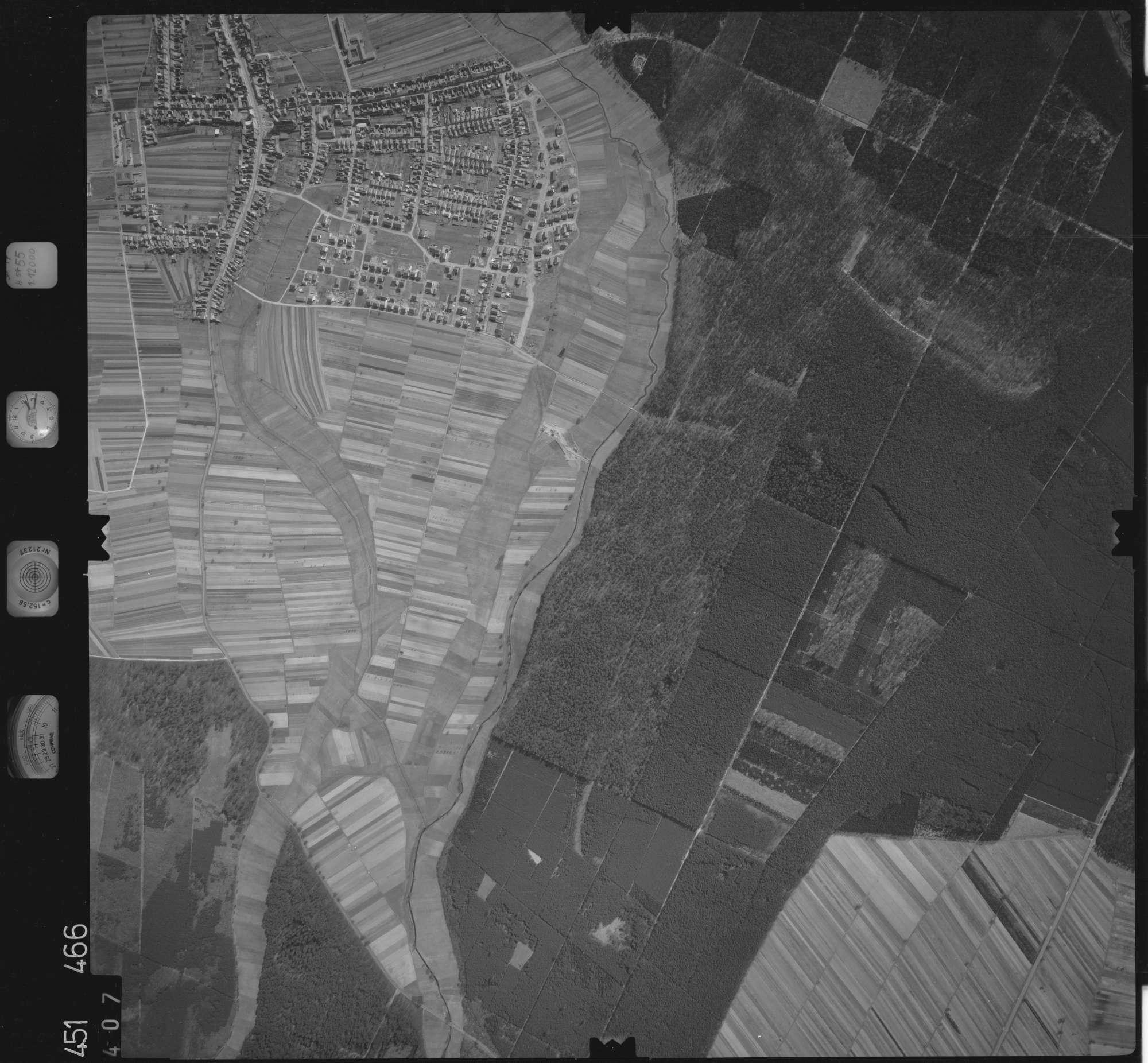 Luftbild: Film 15 Bildnr. 407, Bild 1