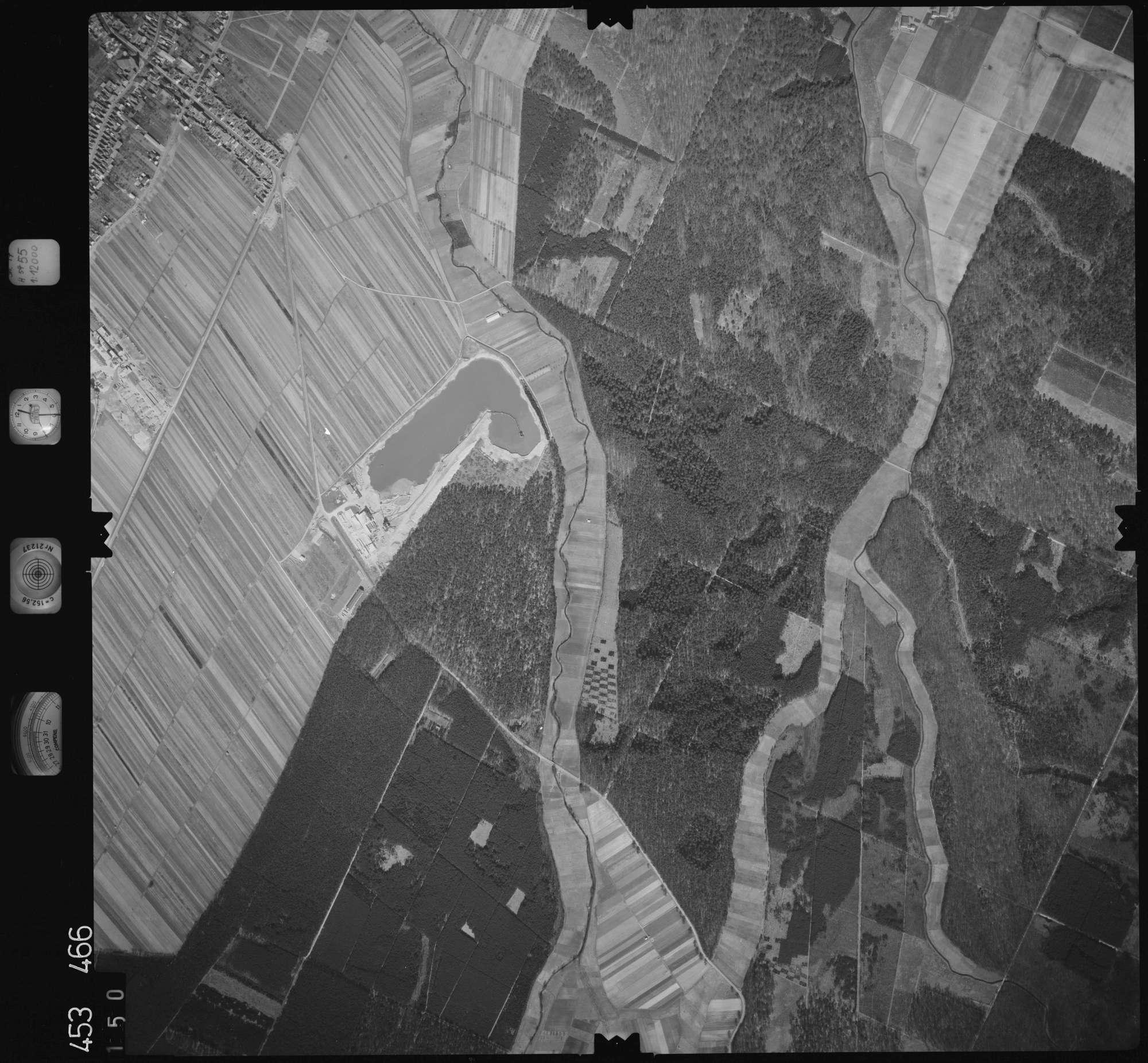 Luftbild: Film 16 Bildnr. 150, Bild 1