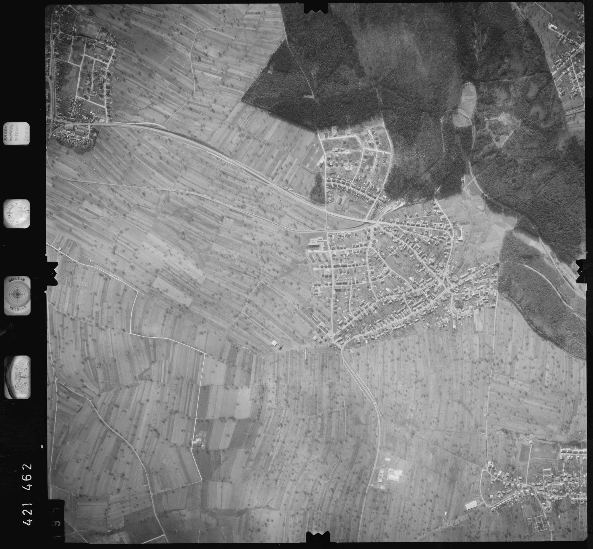 Luftbild: Film 1 Bildnr. 195, Bild 1