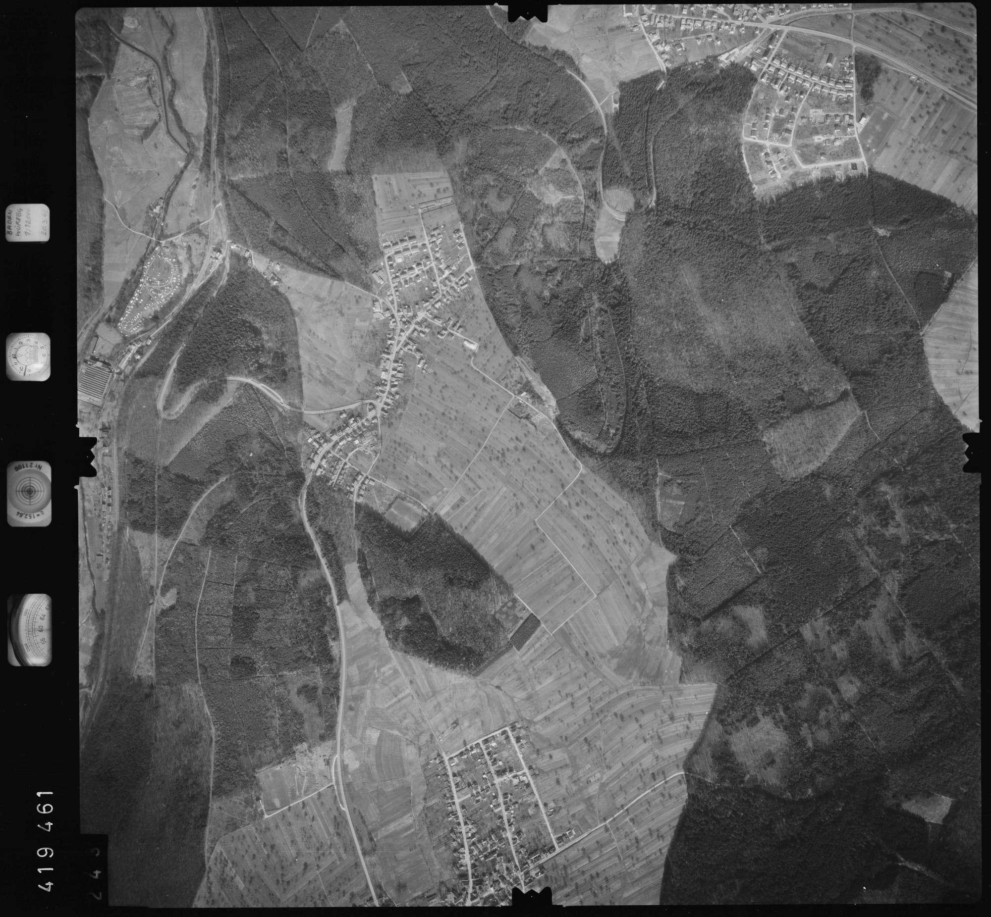 Luftbild: Film 1 Bildnr. 243, Bild 1