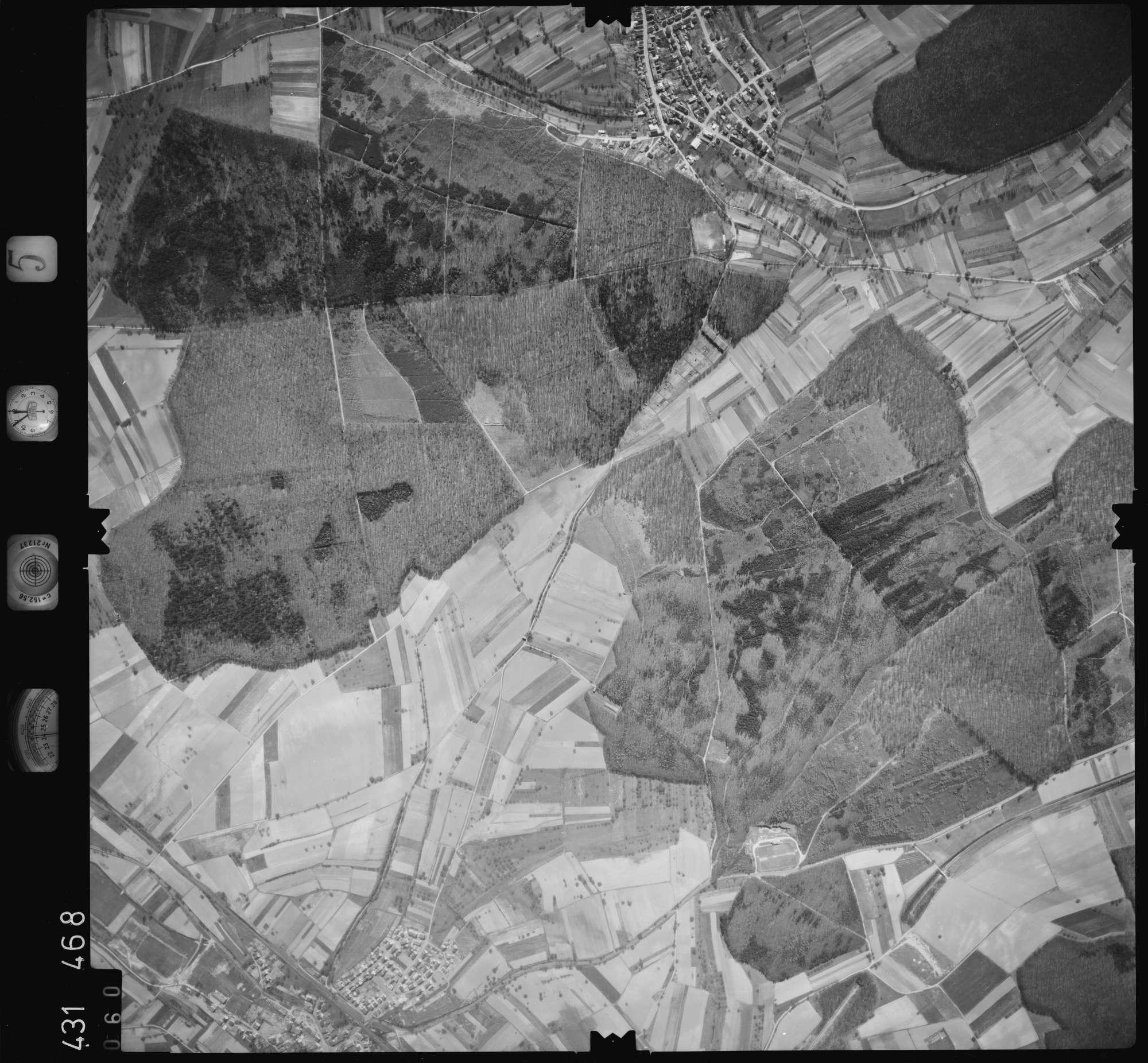 Luftbild: Film 5 Bildnr. 60, Bild 1