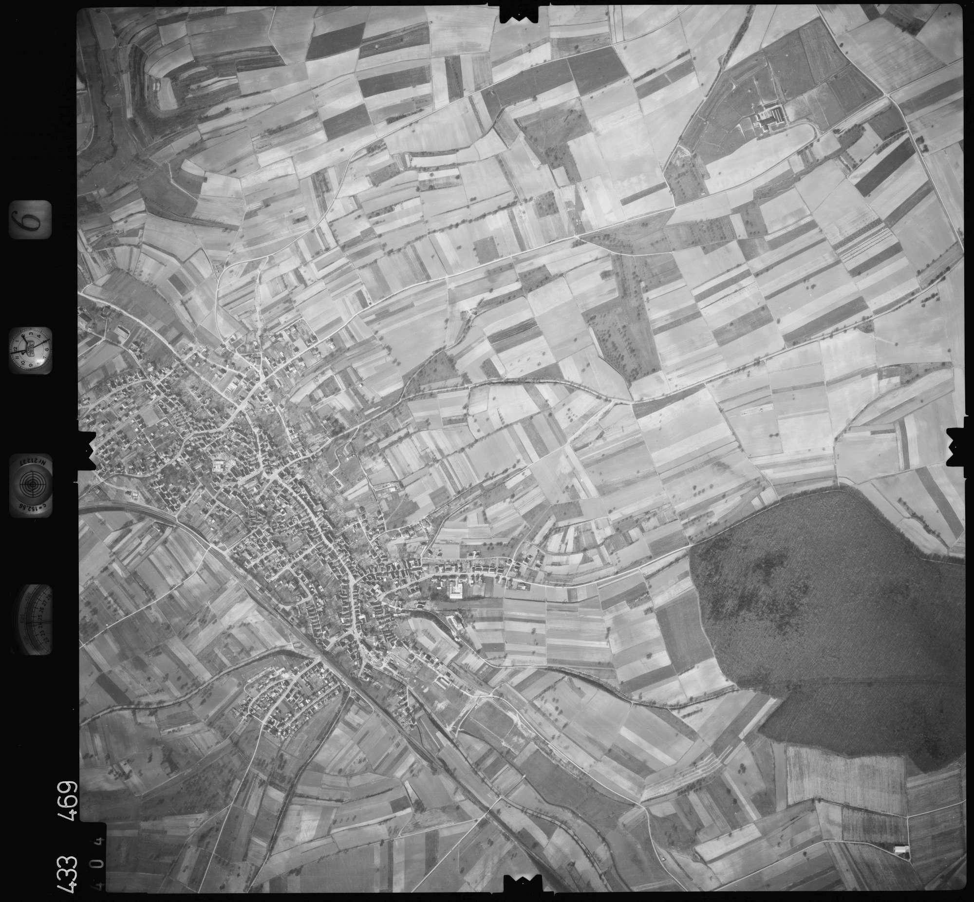 Luftbild: Film 6 Bildnr. 404, Bild 1