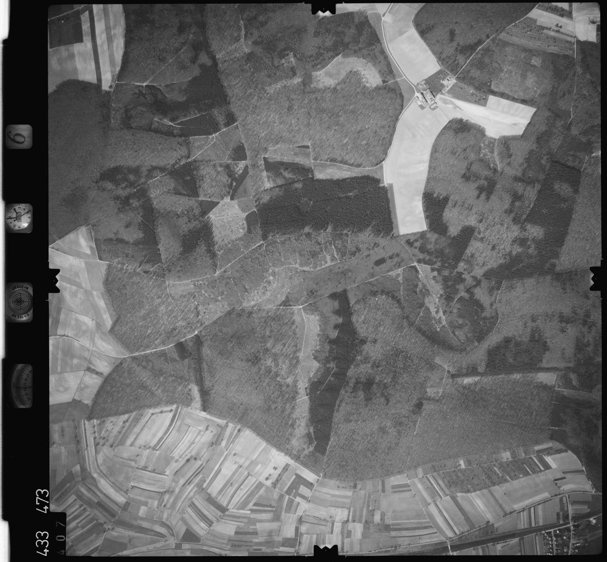 Luftbild: Film 6 Bildnr. 407, Bild 1