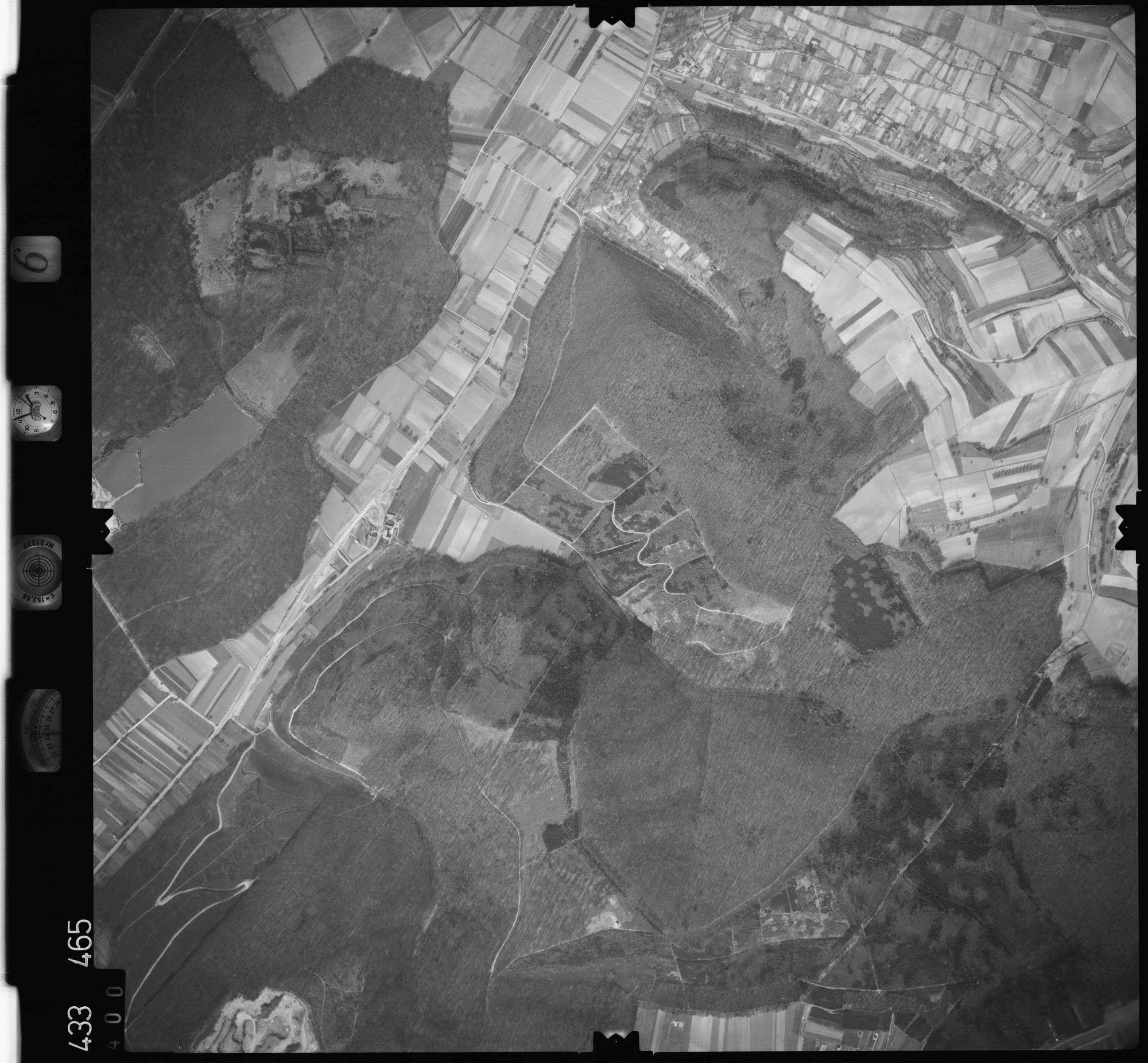 Luftbild: Film 6 Bildnr. 400, Bild 1