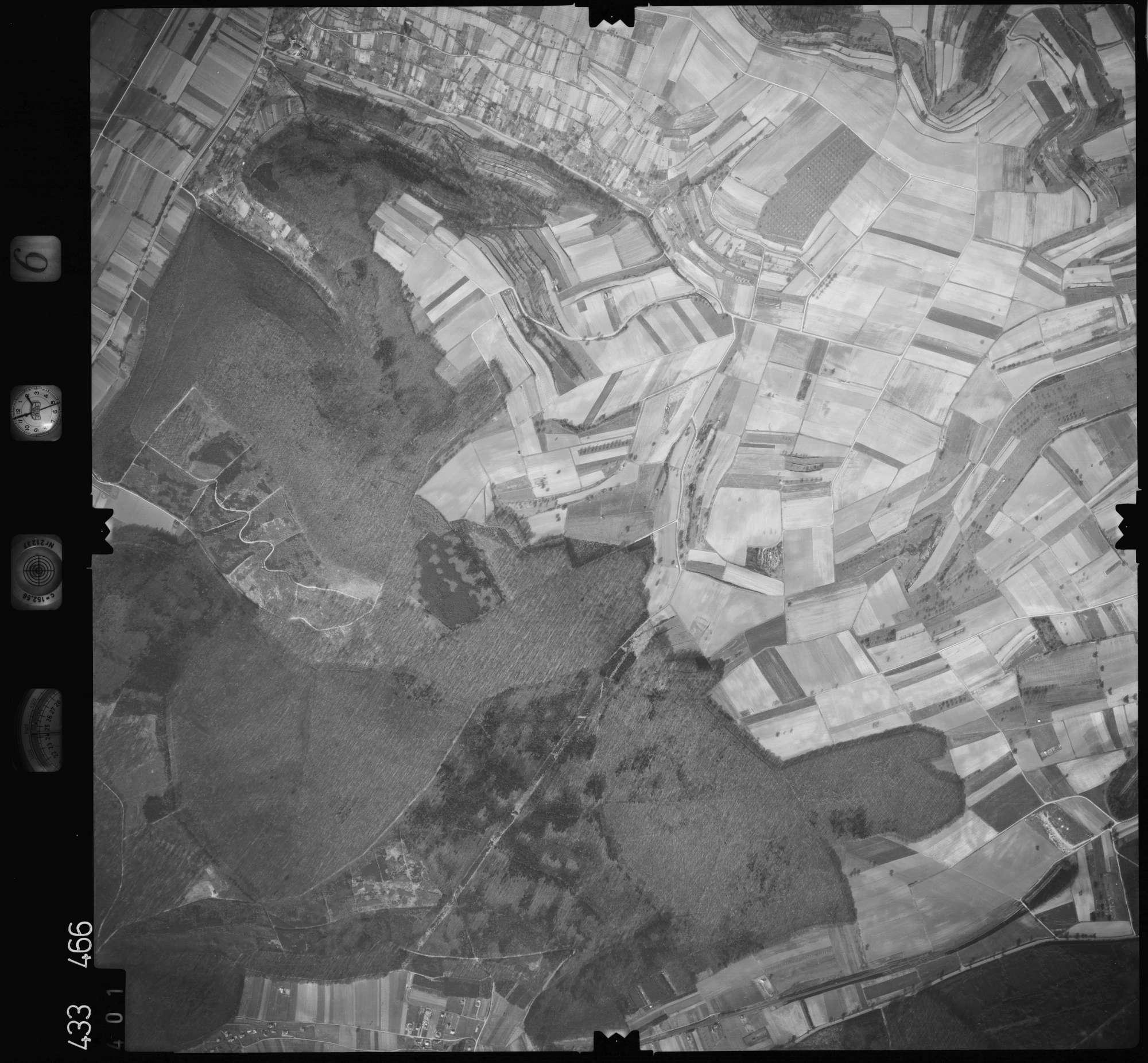Luftbild: Film 6 Bildnr. 401, Bild 1