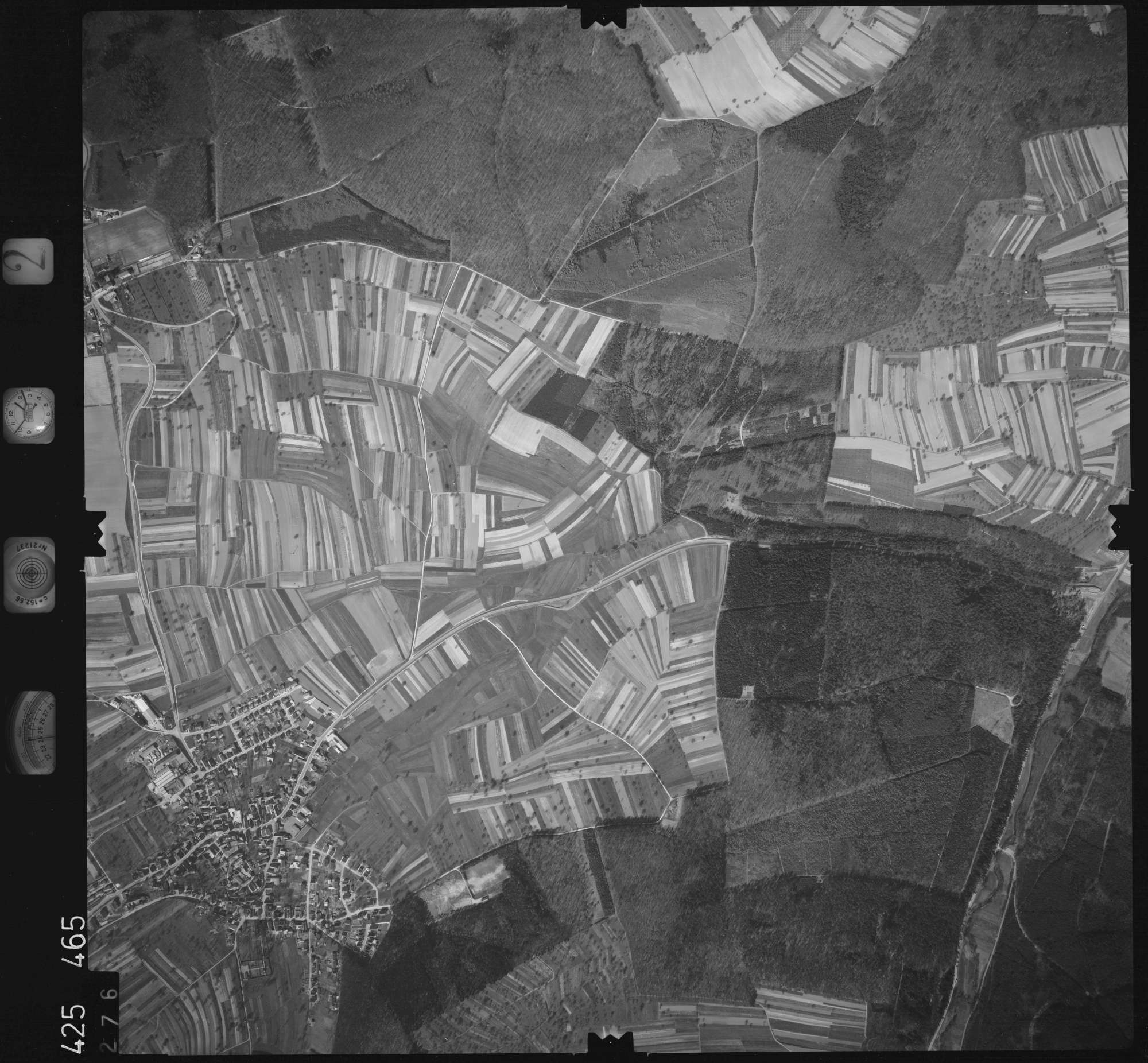 Luftbild: Film 2 Bildnr. 276, Bild 1