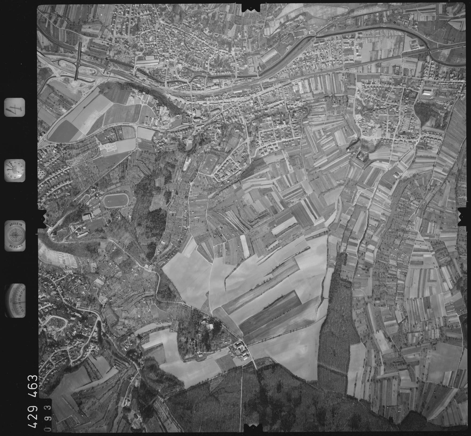 Luftbild: Film 4 Bildnr. 93, Bild 1