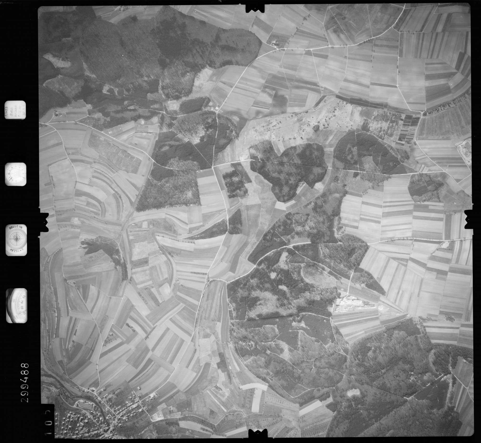 Luftbild: Film 66 Bildnr. 105, Bild 1