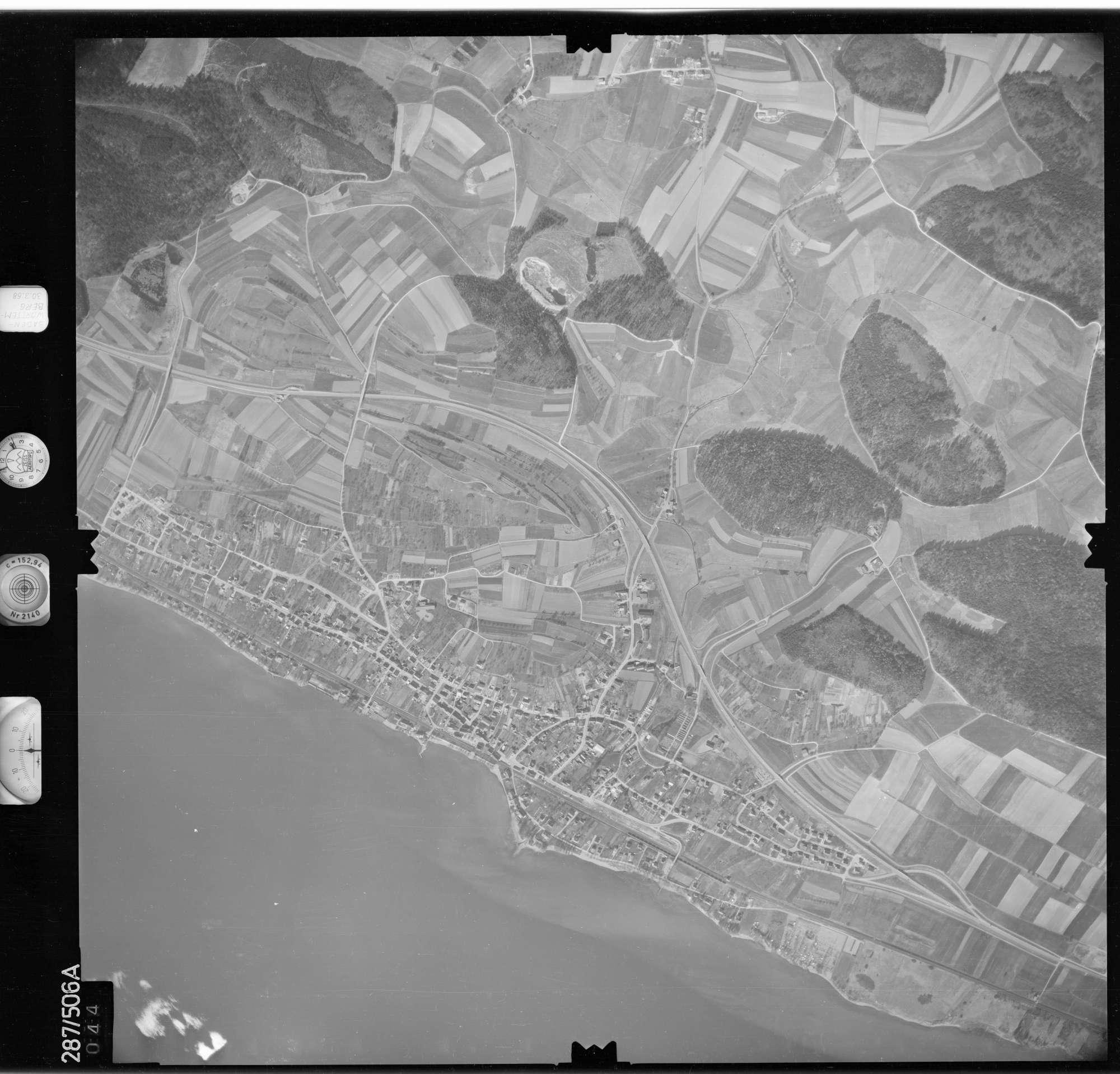 Luftbild: Film 78 Bildnr. 44, Bild 1