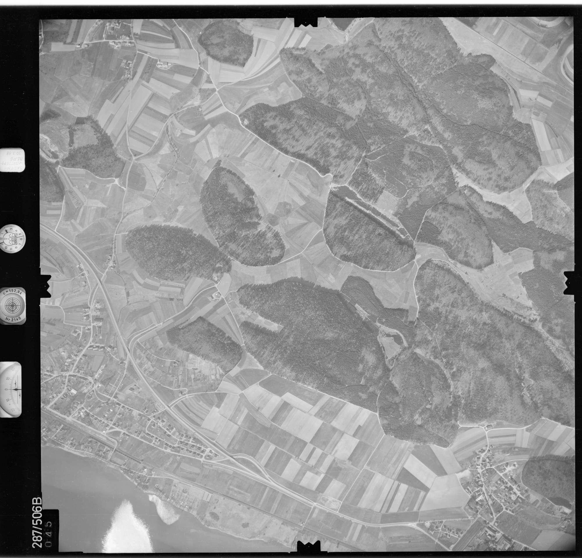 Luftbild: Film 78 Bildnr. 45, Bild 1