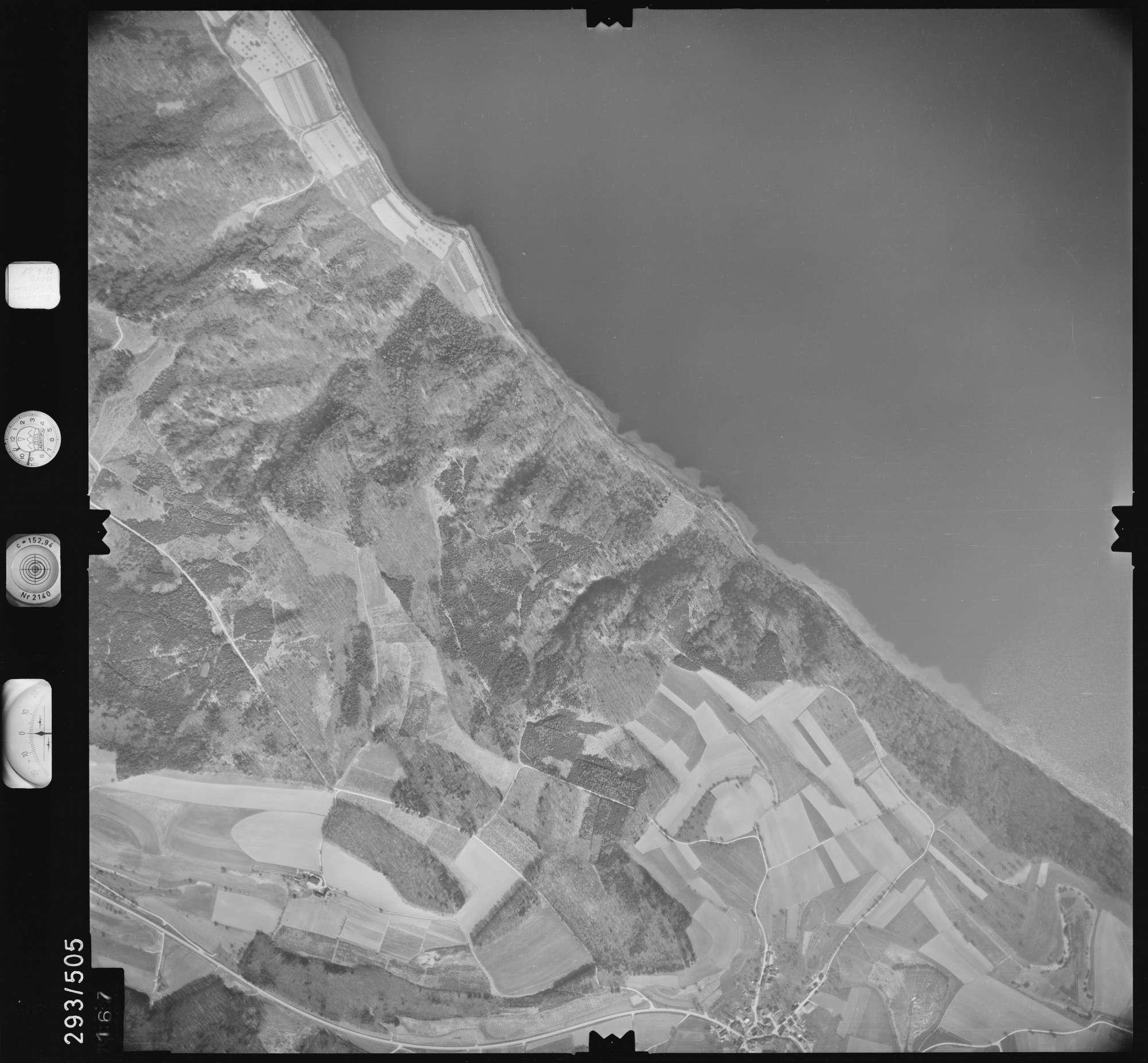 Luftbild: Film 43 Bildnr. 167, Bild 1