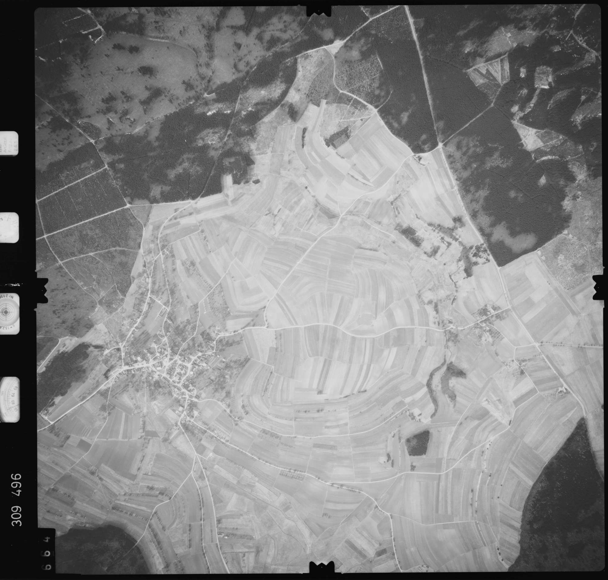 Luftbild: Film 59 Bildnr. 664, Bild 1