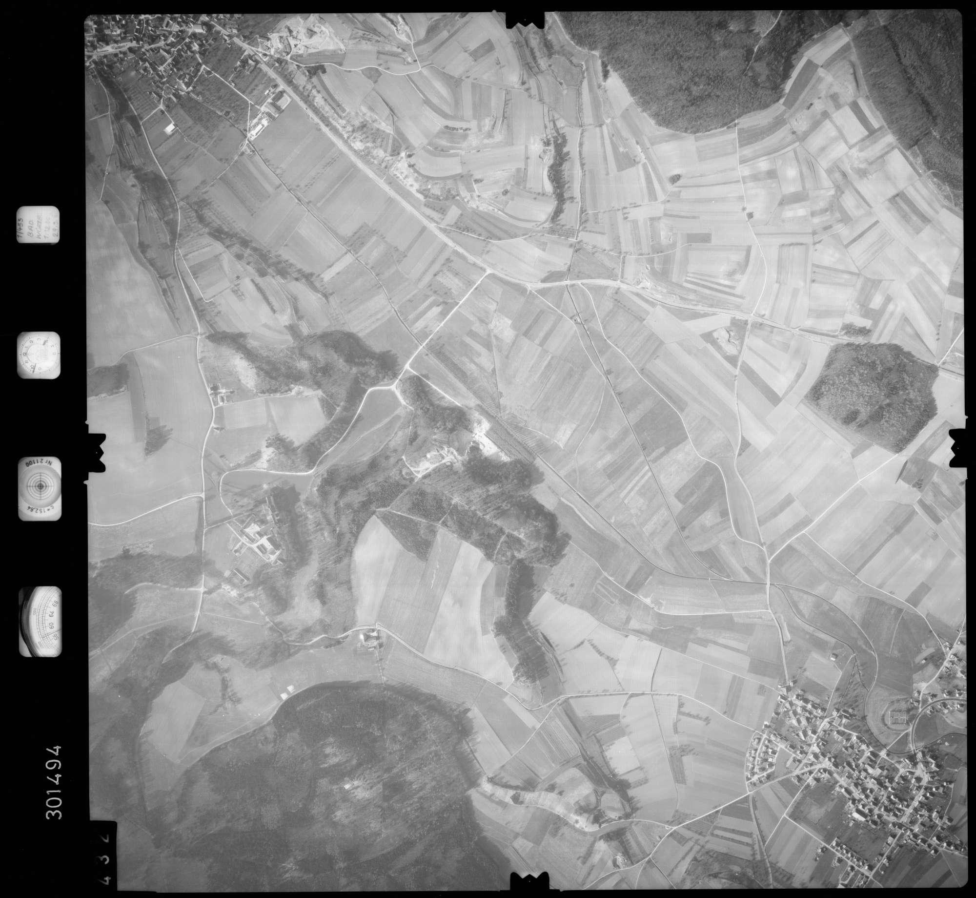 Luftbild: Film 64 Bildnr. 432, Bild 1
