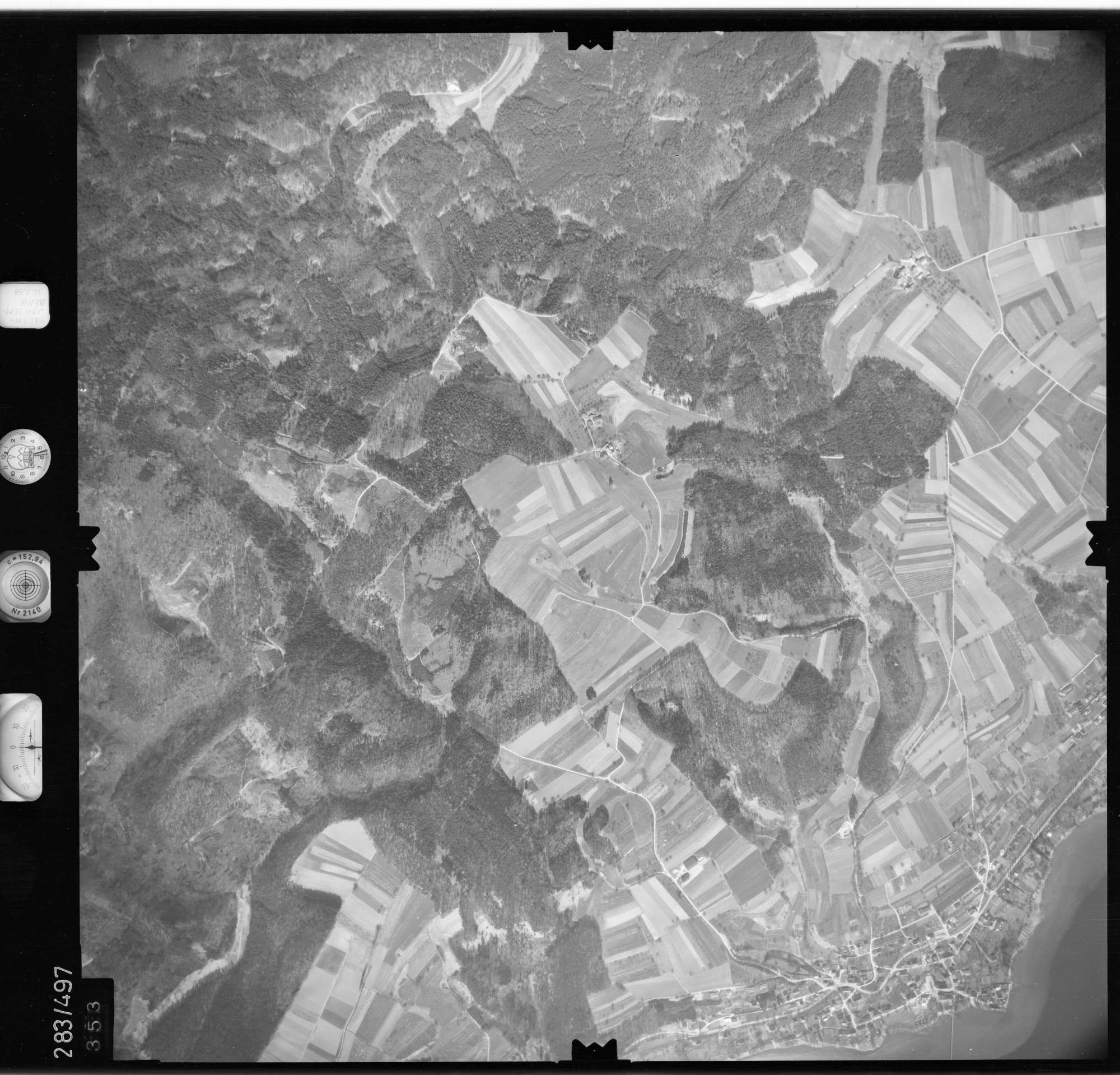 Luftbild: Film 79 Bildnr. 353, Bild 1