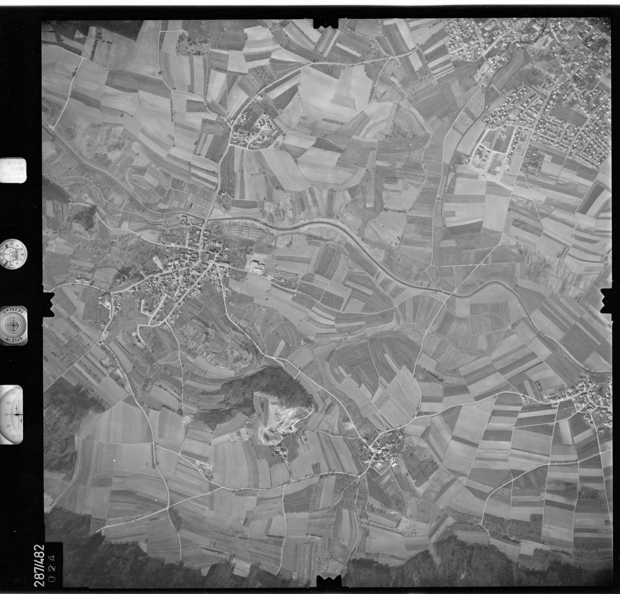 Luftbild: Film 78 Bildnr. 24, Bild 1