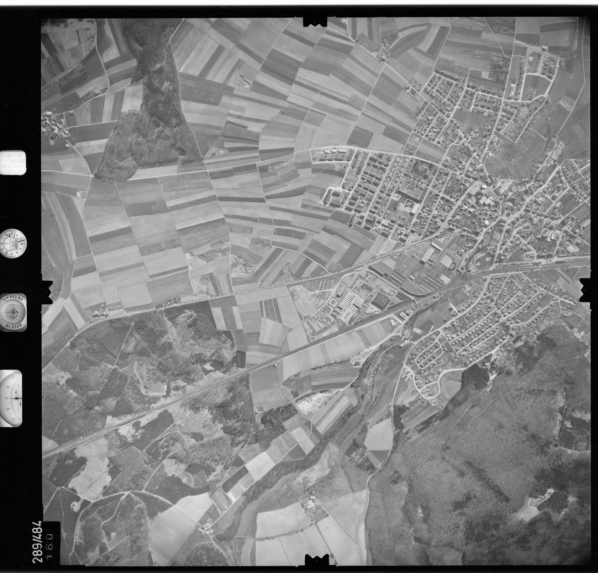 Luftbild: Film 78 Bildnr. 160, Bild 1