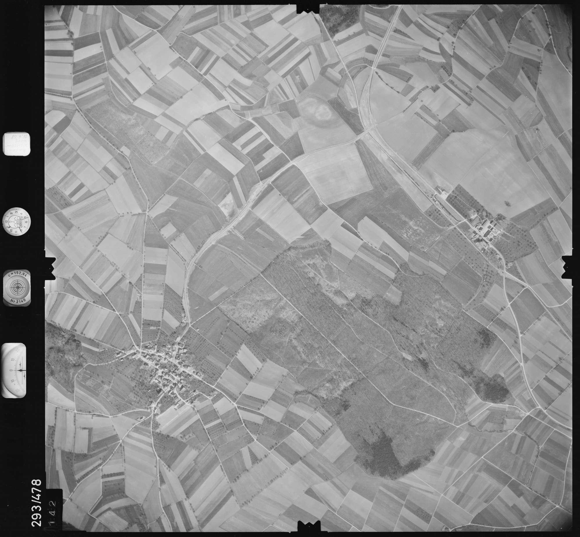 Luftbild: Film 43 Bildnr. 142, Bild 1