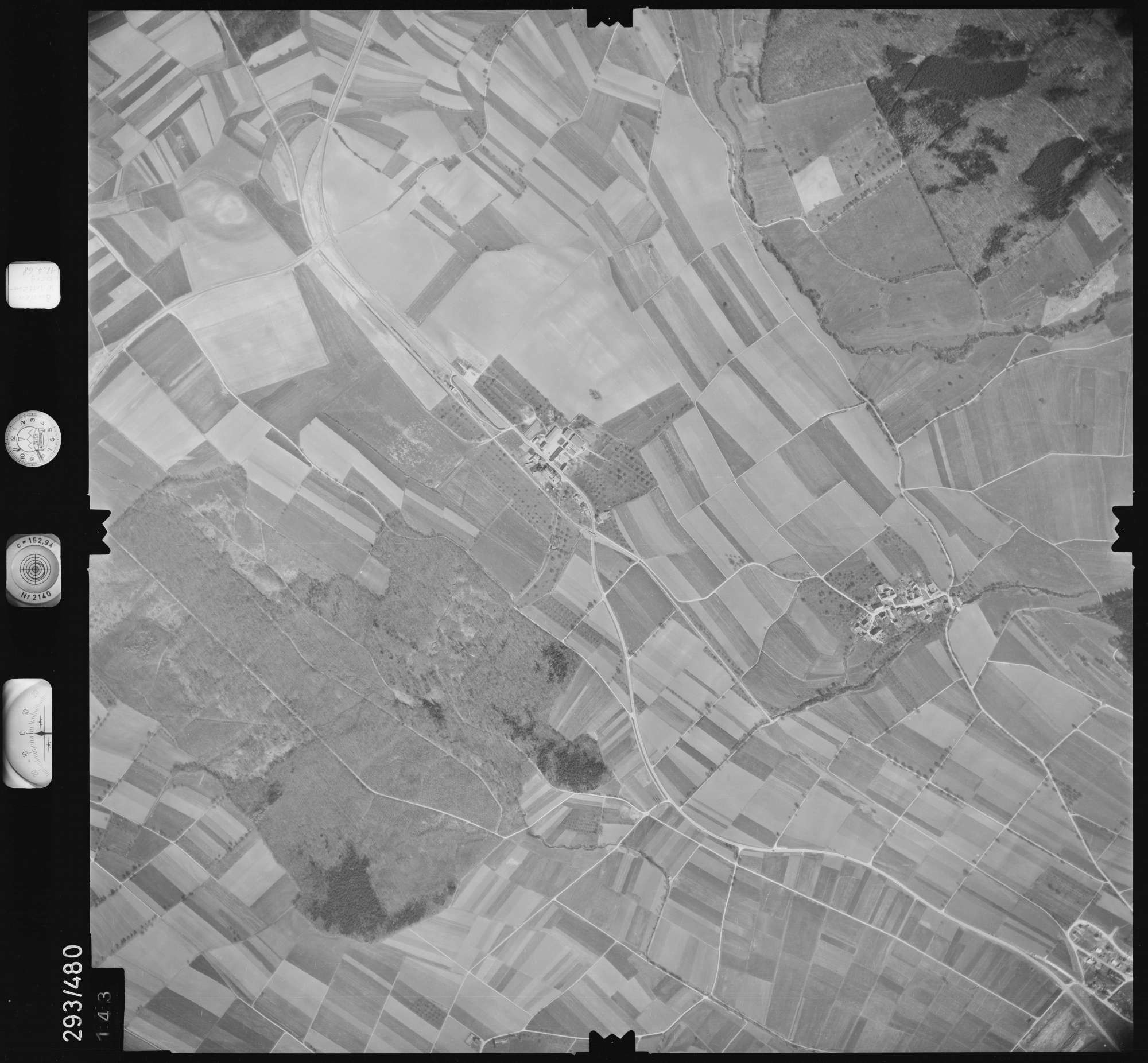 Luftbild: Film 43 Bildnr. 143, Bild 1