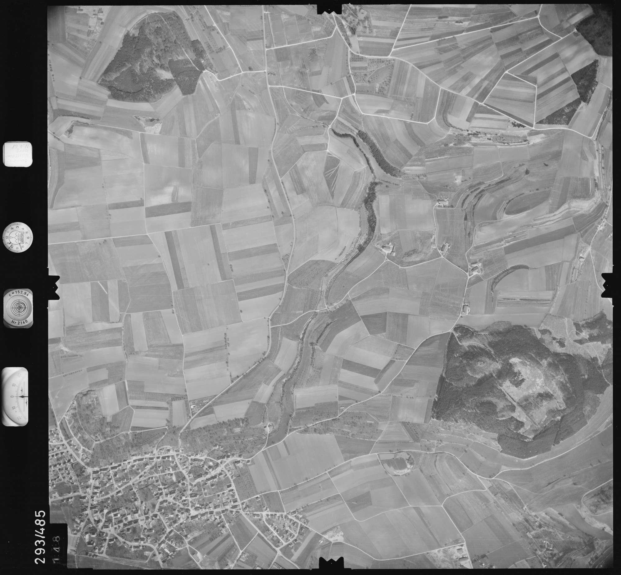 Luftbild: Film 43 Bildnr. 148, Bild 1