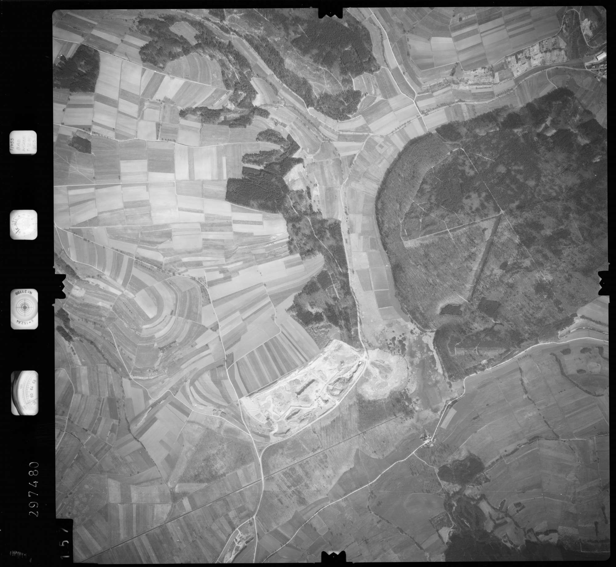 Luftbild: Film 66 Bildnr. 157, Bild 1