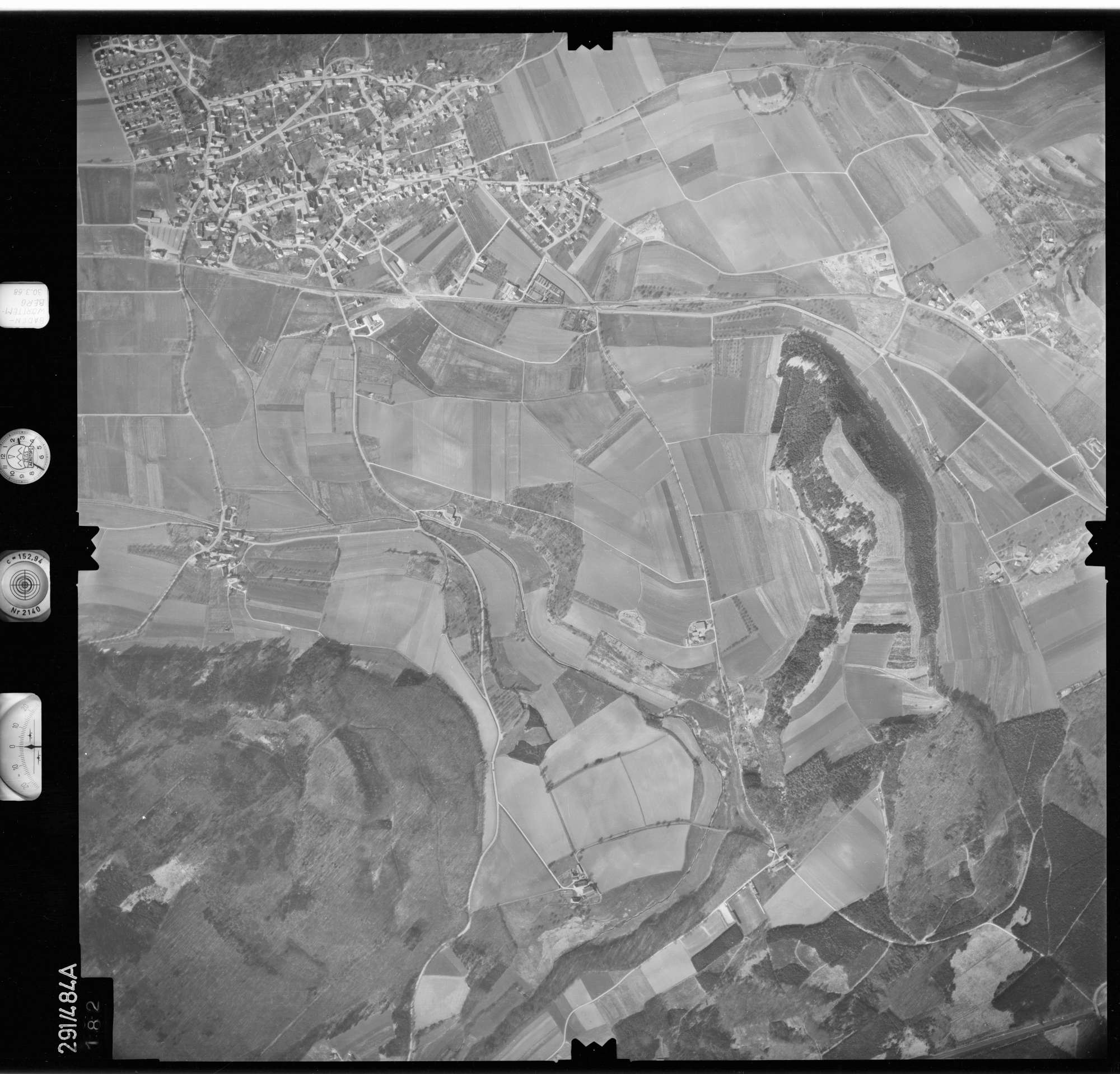 Luftbild: Film 78 Bildnr. 182, Bild 1