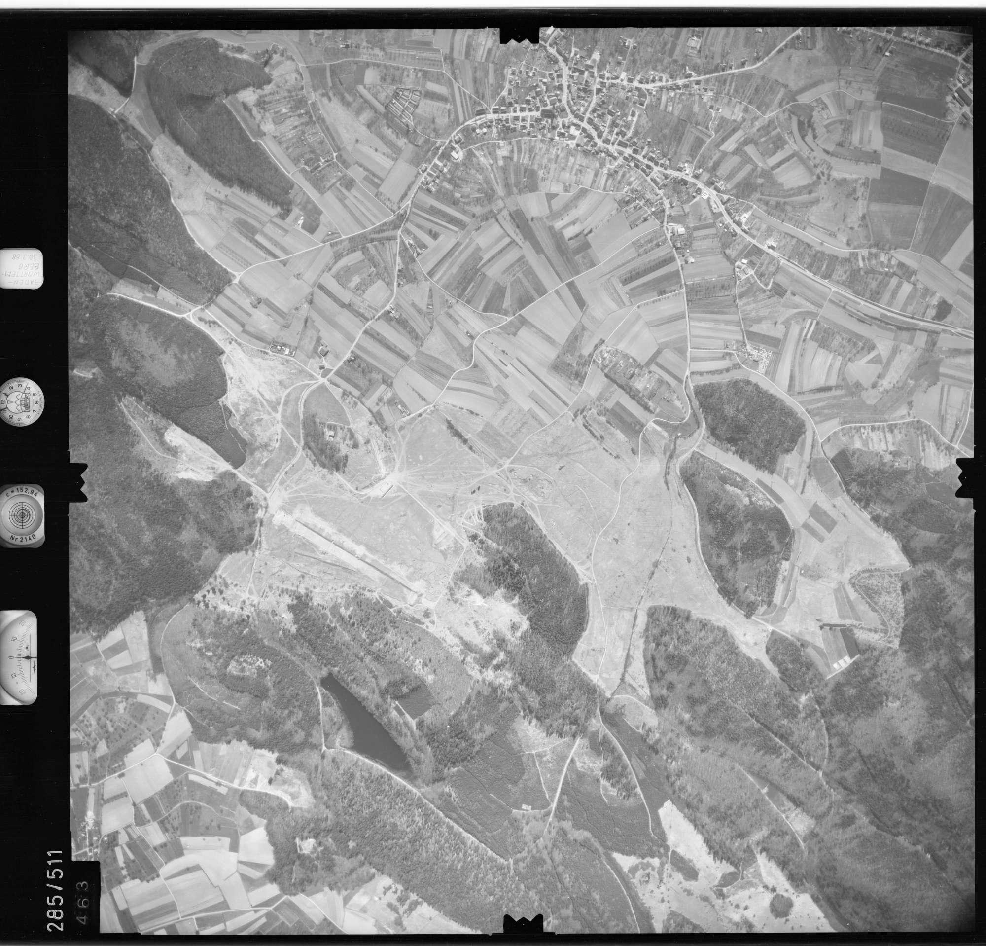 Luftbild: Film 79 Bildnr. 463, Bild 1