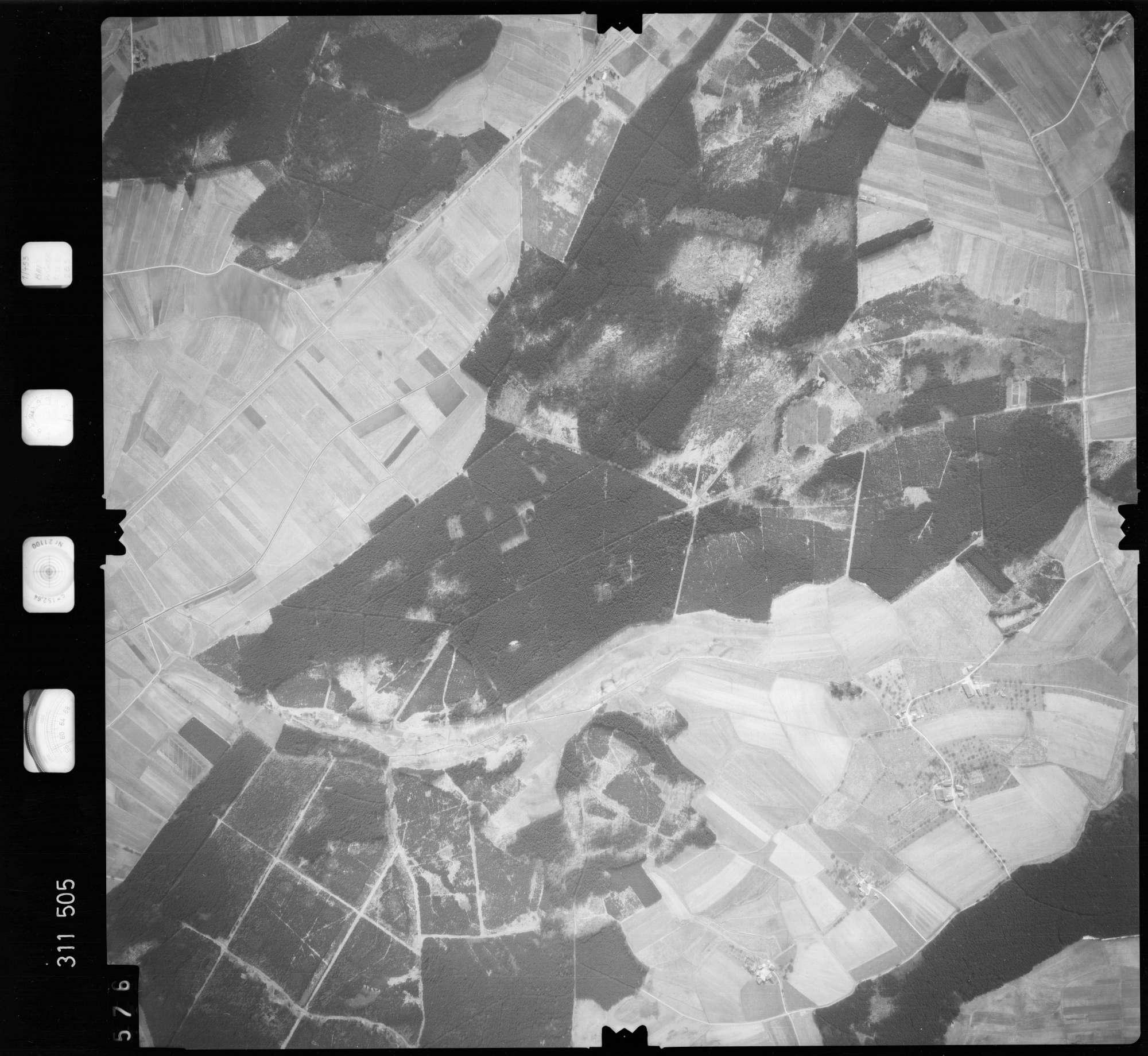 Luftbild: Film 58 Bildnr. 576, Bild 1