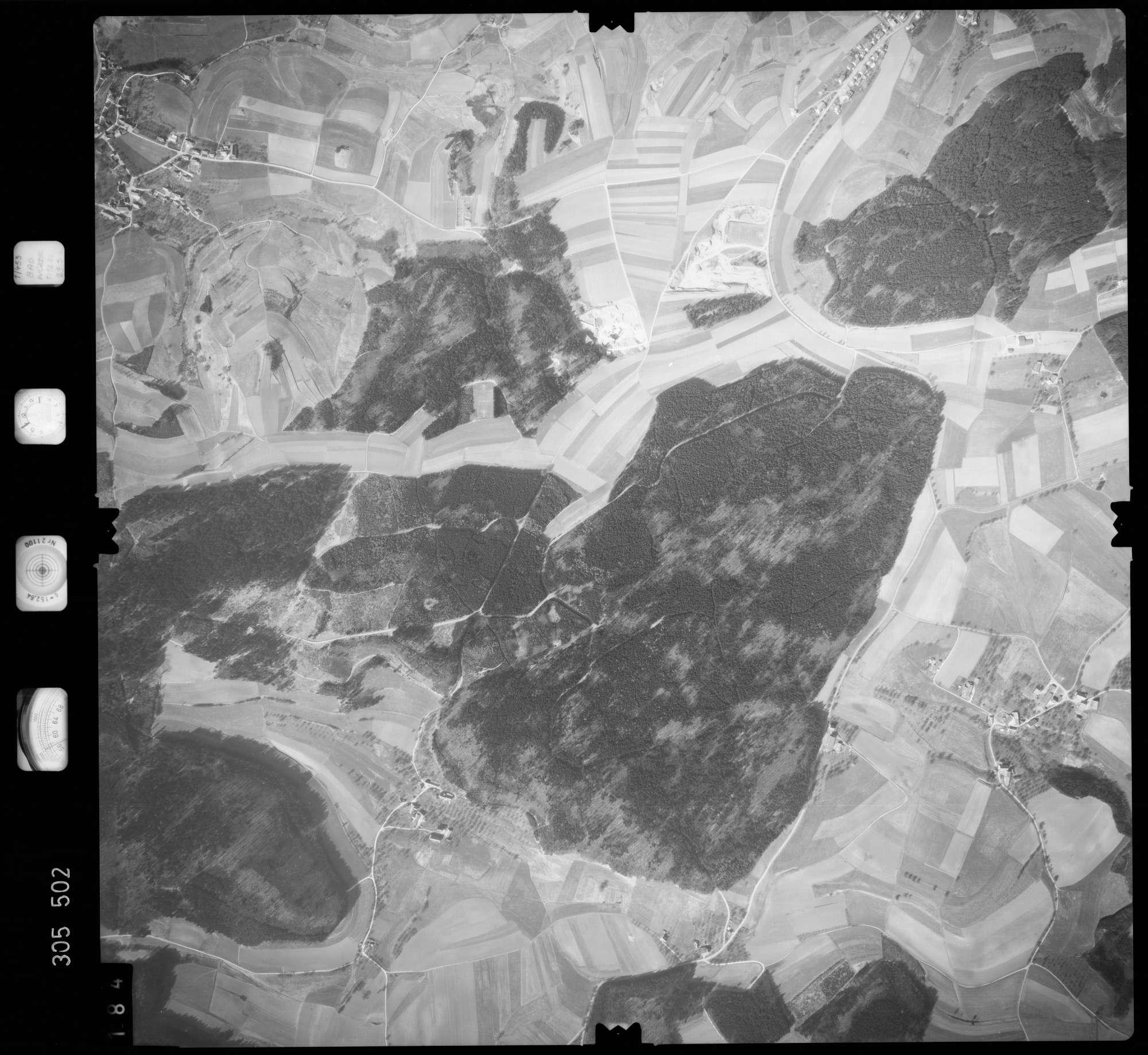 Luftbild: Film 61 Bildnr. 184, Bild 1