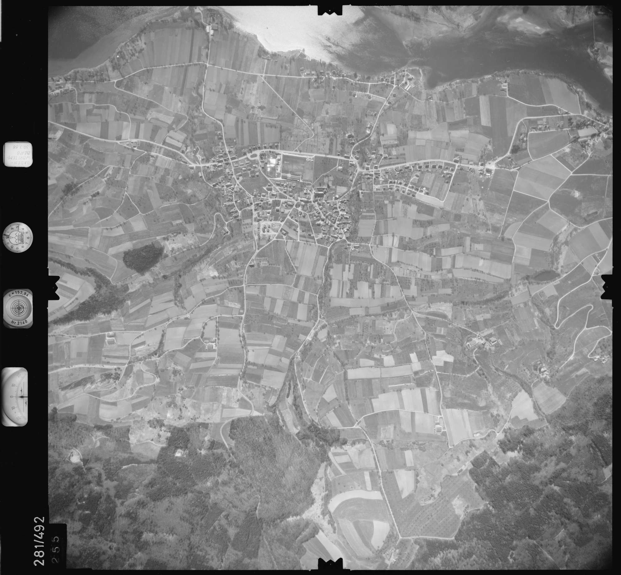 Luftbild: Film 27 Bildnr. 255, Bild 1