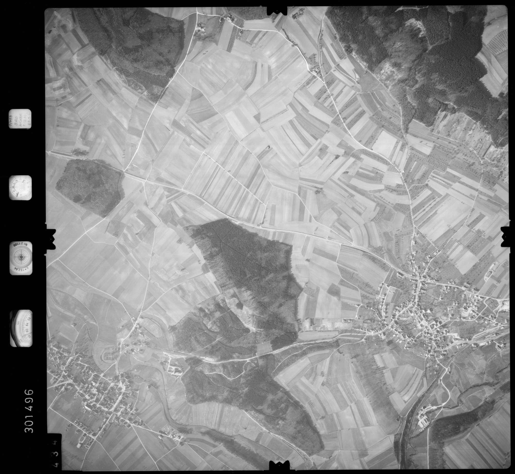 Luftbild: Film 64 Bildnr. 434, Bild 1