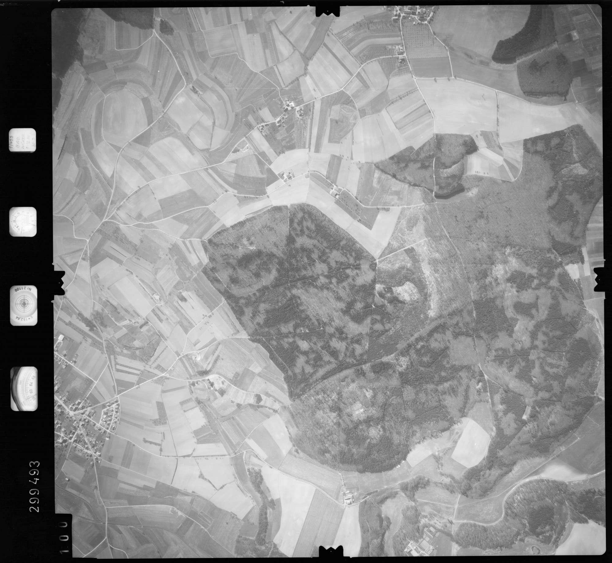 Luftbild: Film 66 Bildnr. 100, Bild 1
