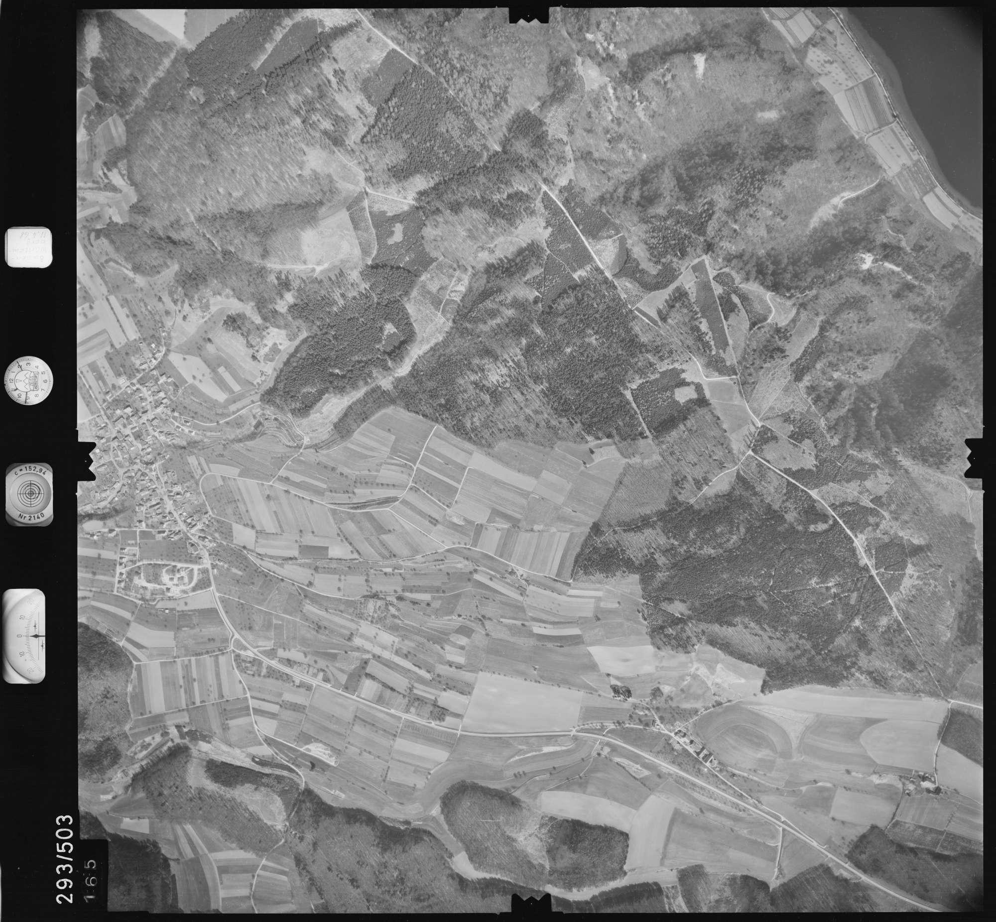 Luftbild: Film 43 Bildnr. 165, Bild 1
