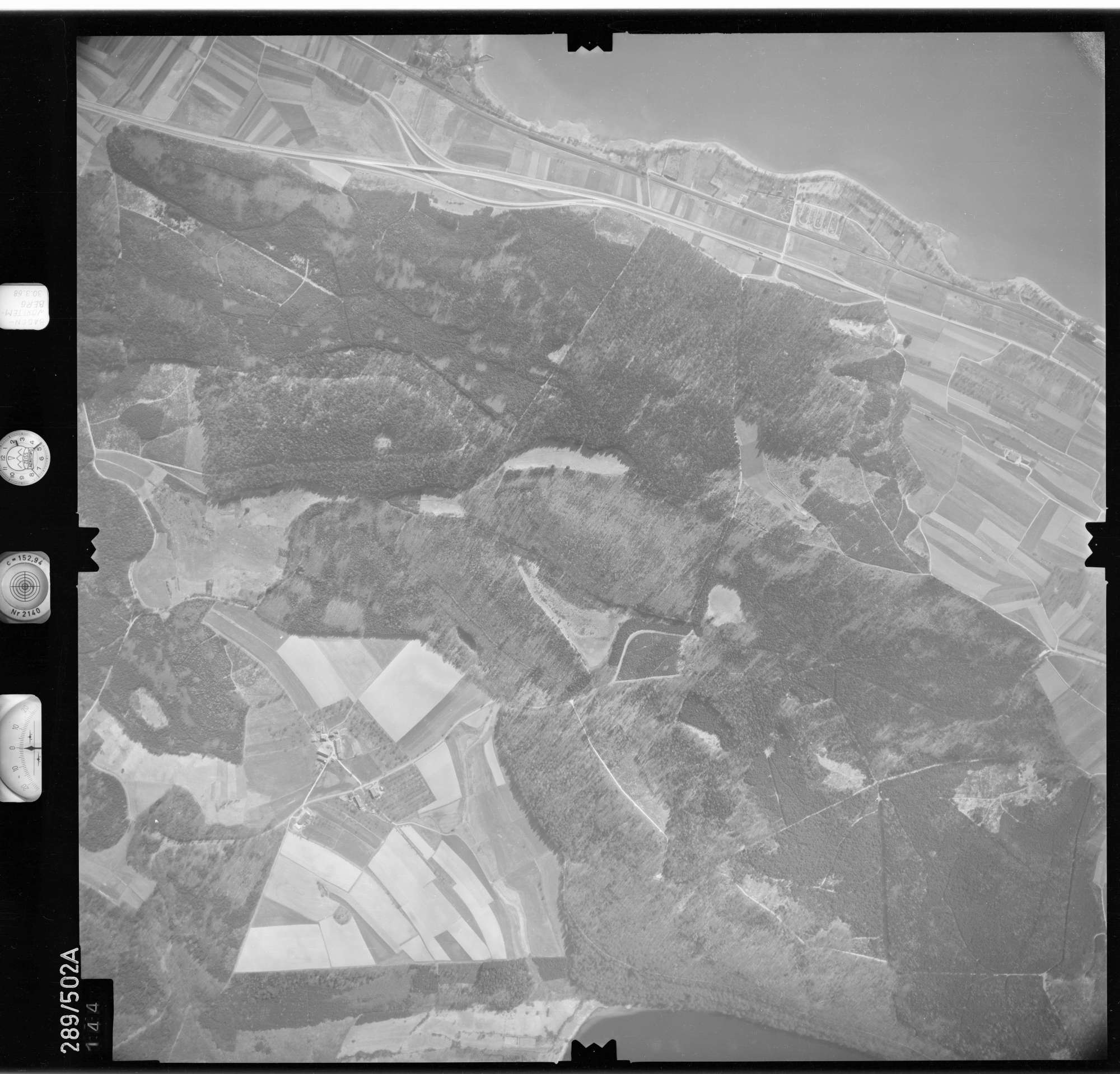 Luftbild: Film 78 Bildnr. 144, Bild 1