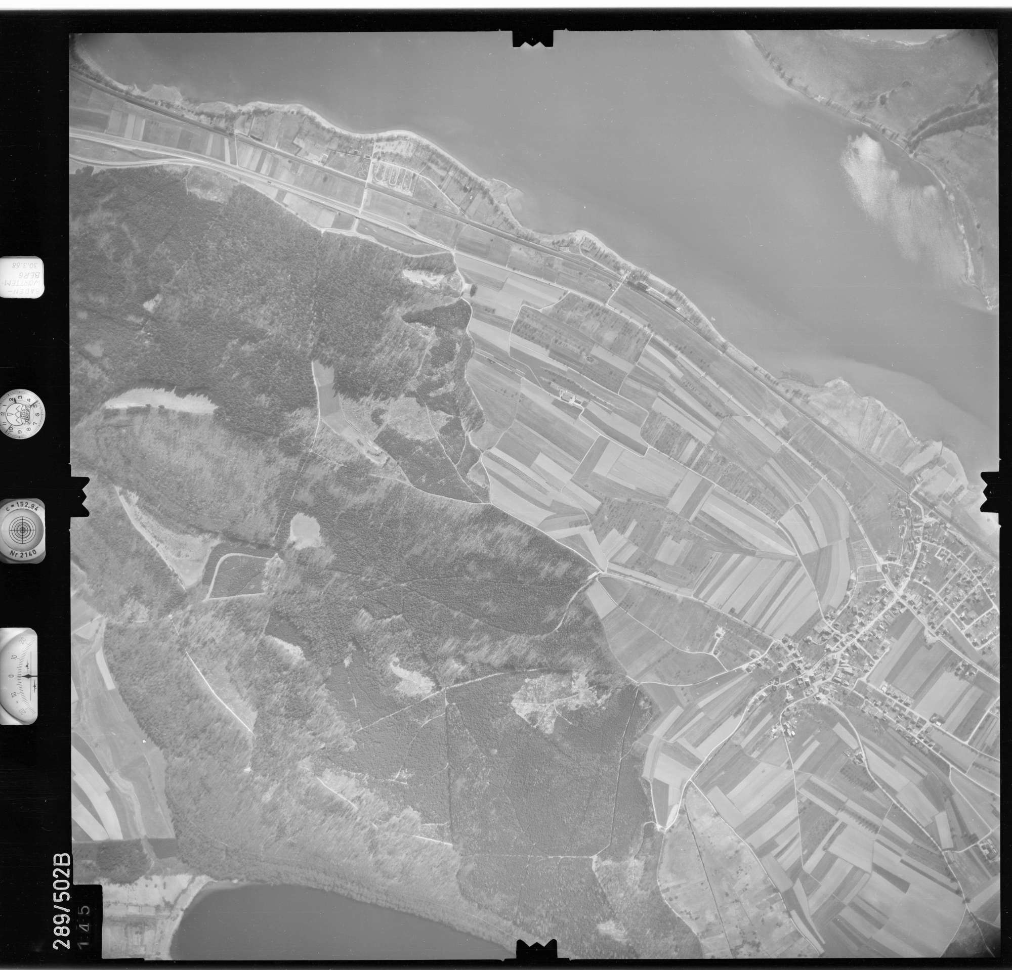 Luftbild: Film 78 Bildnr. 145, Bild 1