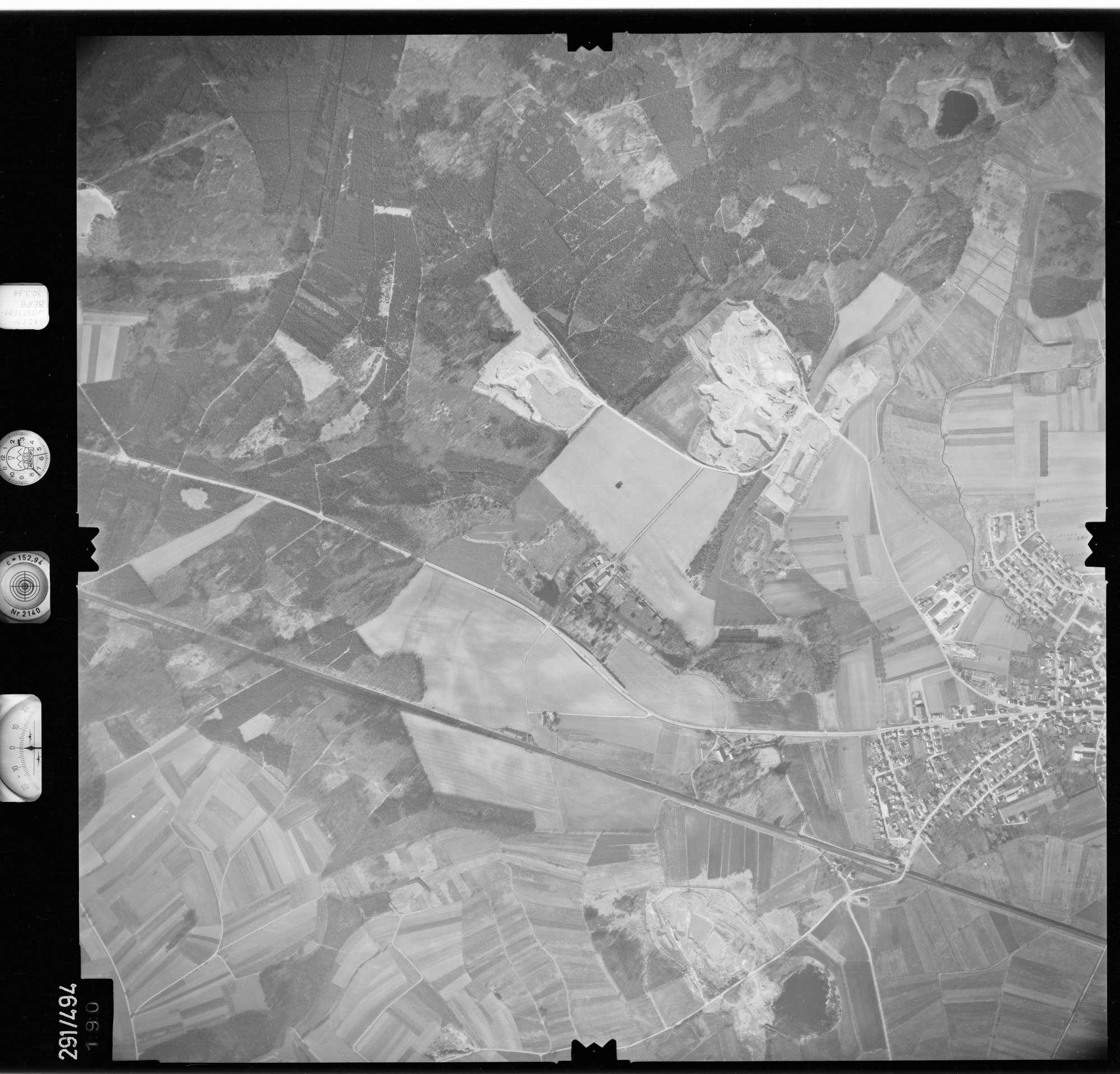 Luftbild: Film 78 Bildnr. 190, Bild 1