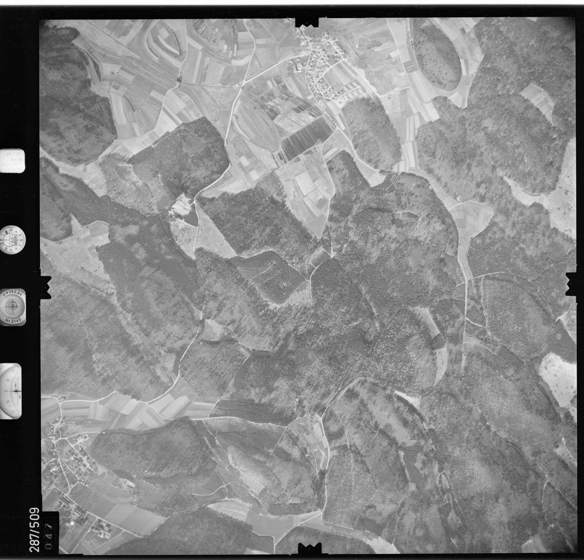 Luftbild: Film 78 Bildnr. 47, Bild 1