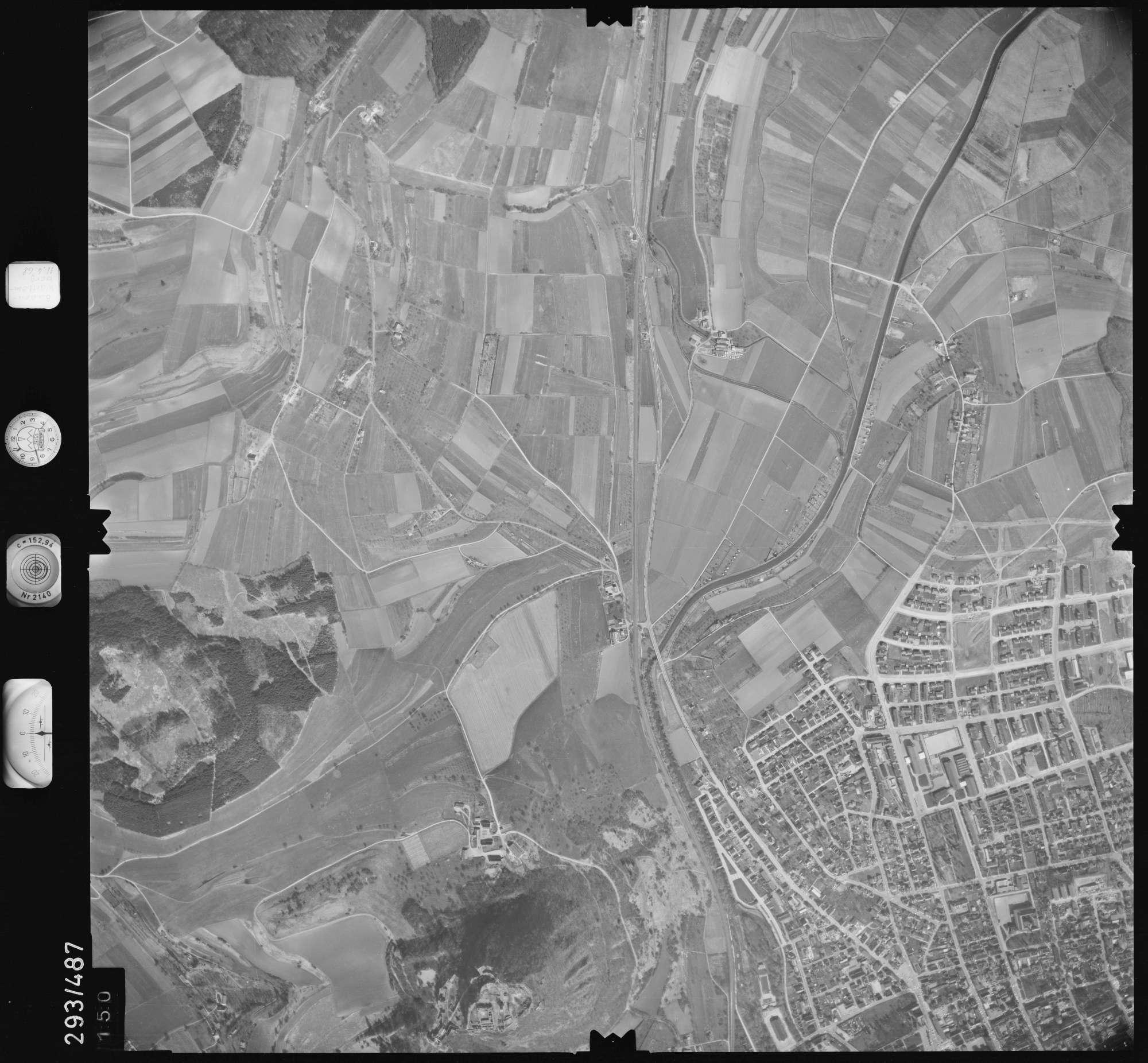 Luftbild: Film 43 Bildnr. 150, Bild 1